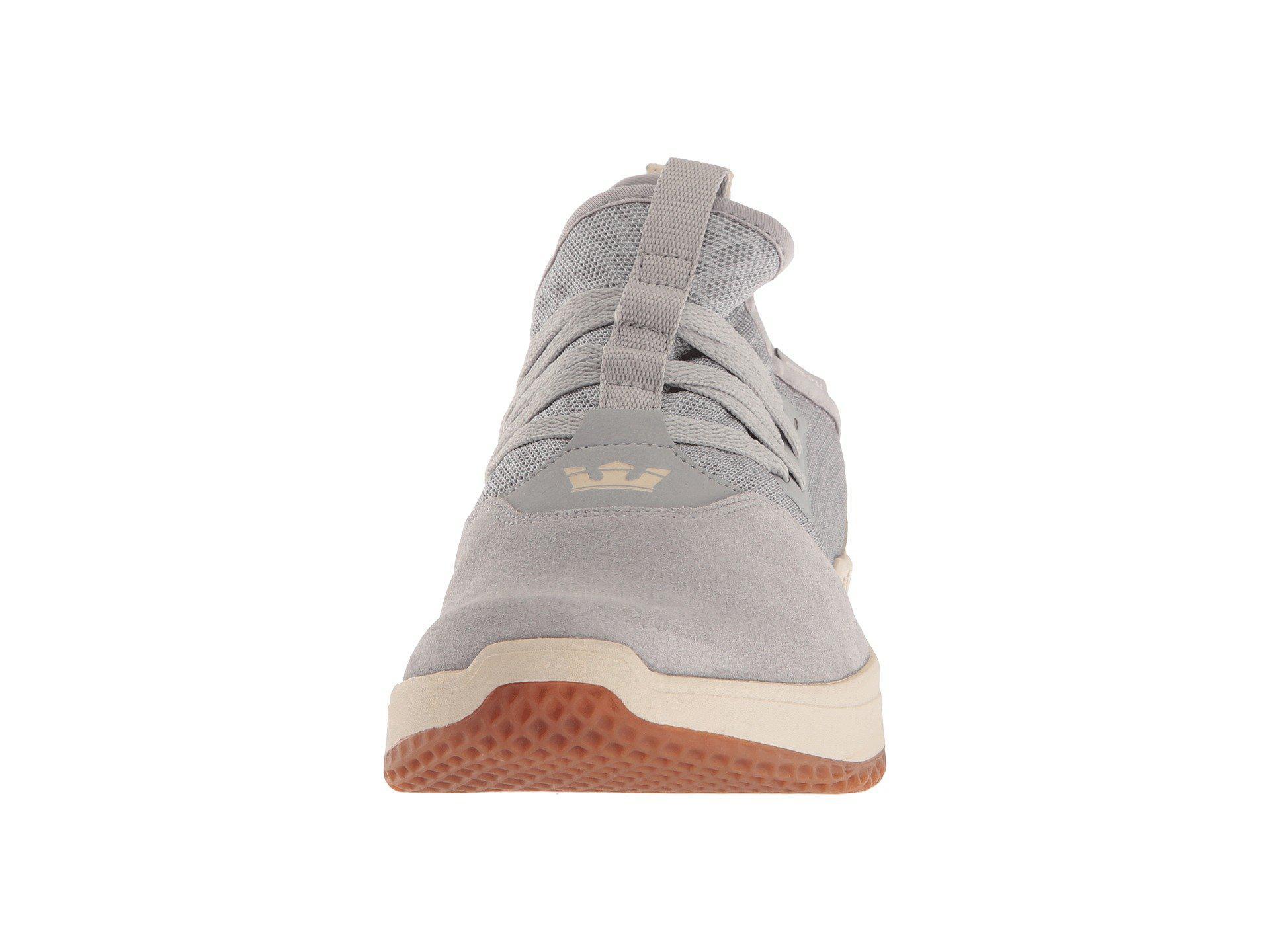 b2adb011637c Lyst - Supra Titanium (light Grey bone gum) Men s Skate Shoes in ...