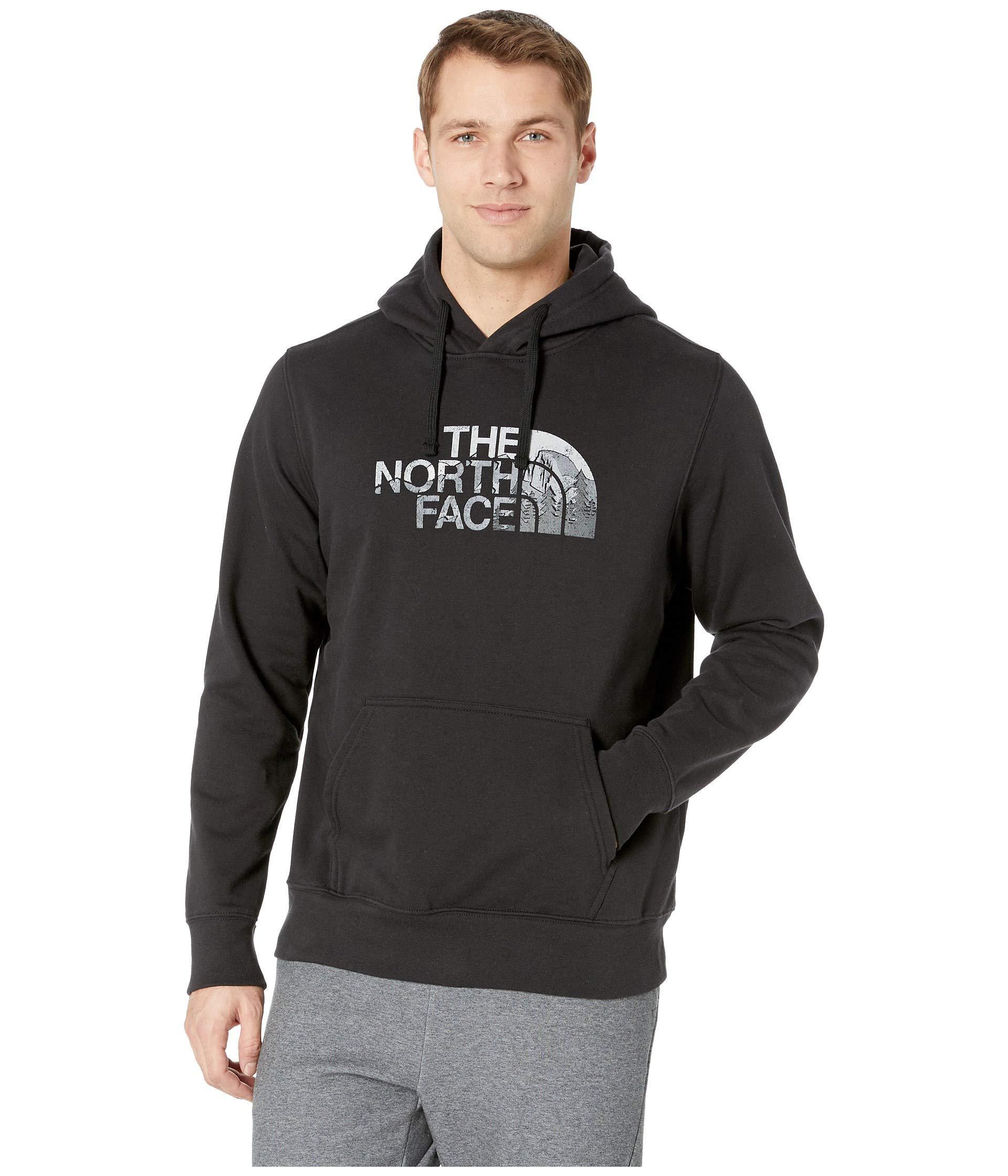 00f7b67a8 The North Face Half Dome Pullover Hoodie (tnf Black/tnf Black) Men's ...