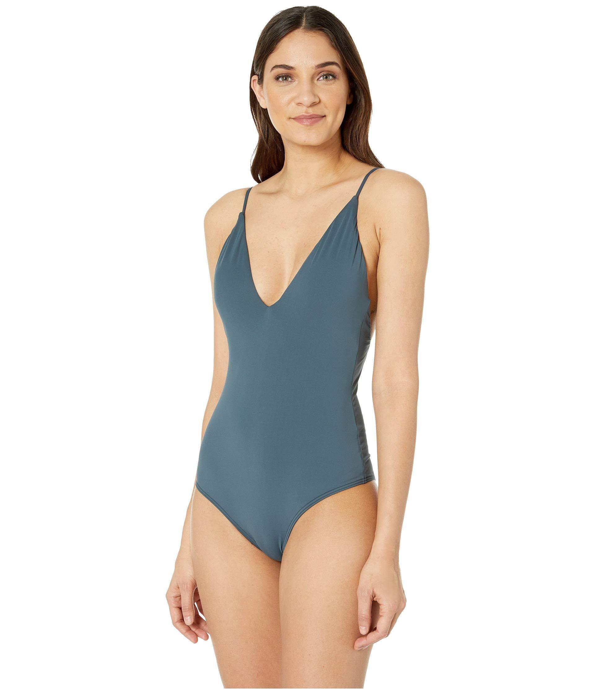 7deb1330ff84f O'neill Sportswear. Blue Salt Water Solids One-piece (black) Women's  Swimsuits ...
