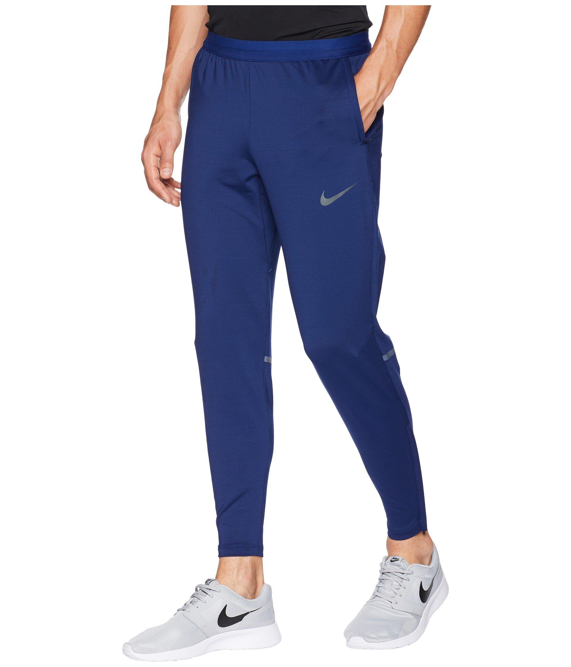 8e2dd41a102d Lyst - Nike Phenom Pants (armory Blue reflect Black) Men s Casual Pants in  Blue for Men