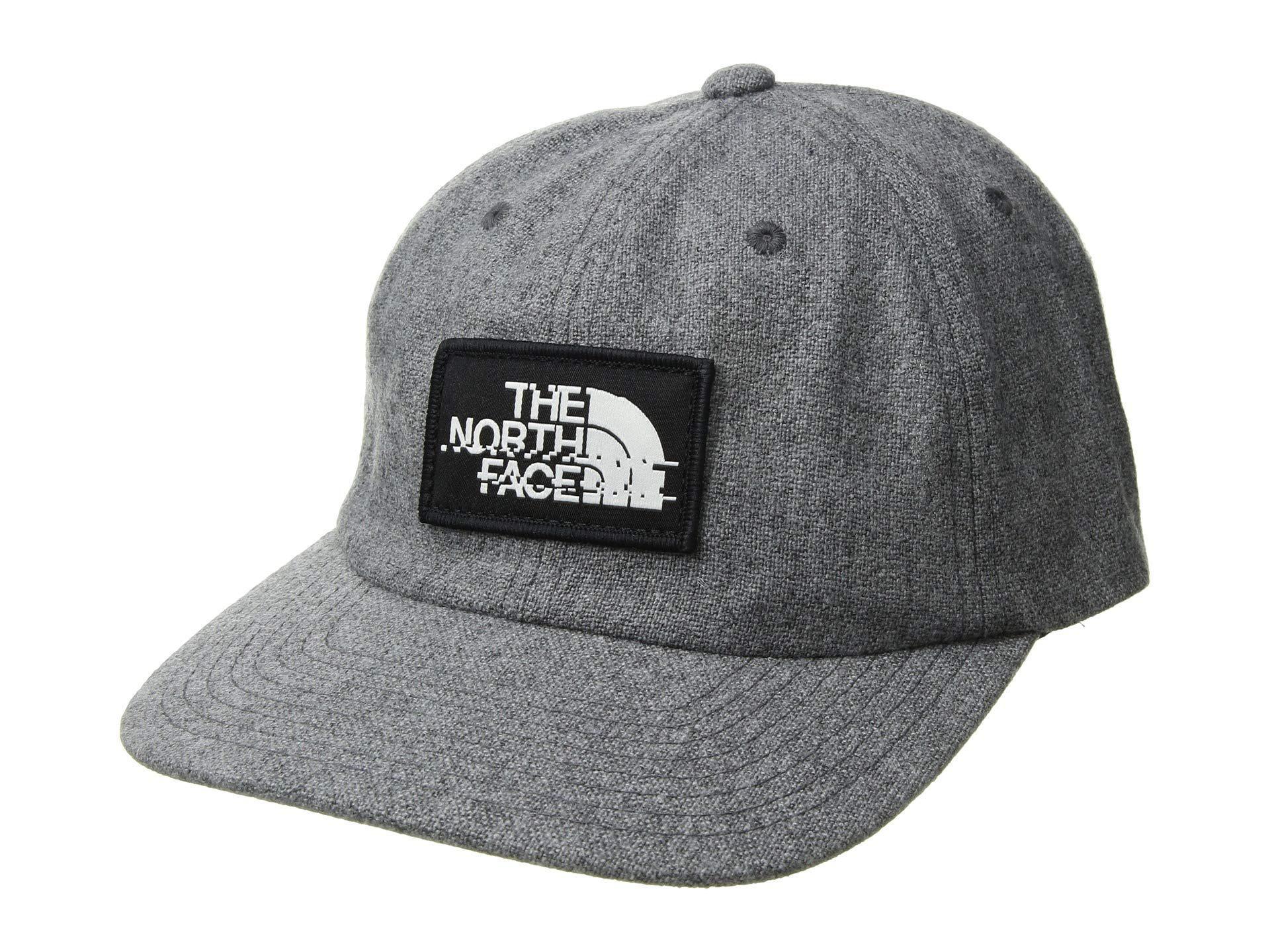 b9bbf1b0f64 Lyst - The North Face Wool Ball Cap (tnf Medium Grey Heather tnf ...