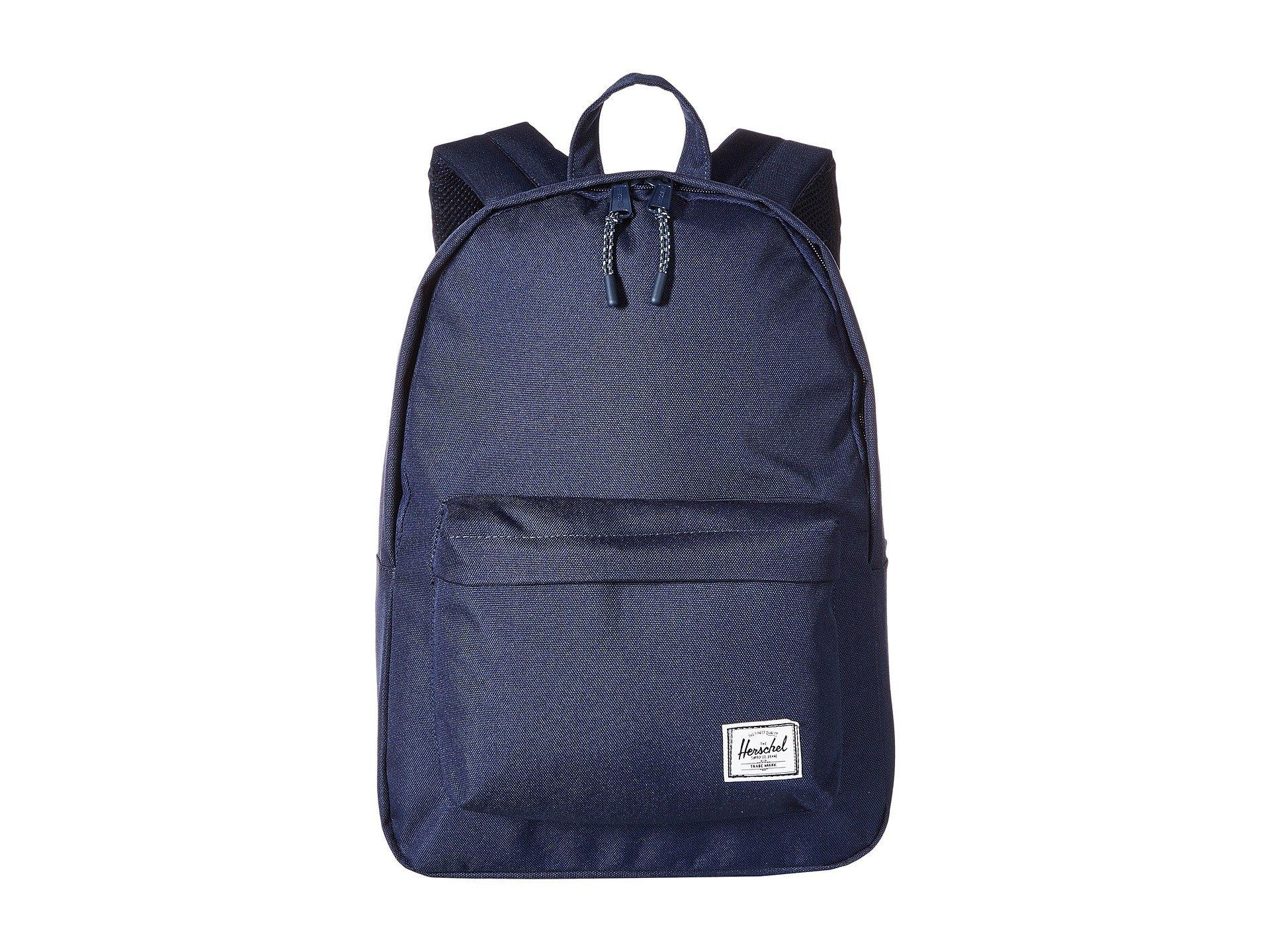 807b599b957 Herschel Supply Co. Men s Blue Classic Mid-volume (pink Lady Crosshatch)  Backpack Bags