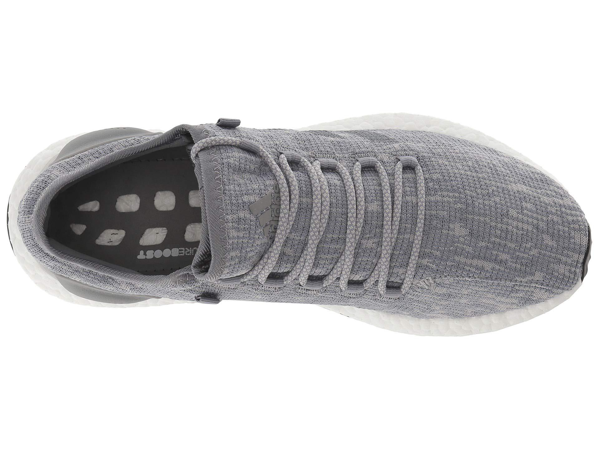 quality design 2b339 afc18 Adidas Originals - Gray Pureboost (grey Threegrey Twogrey Two) Mens.  View fullscreen
