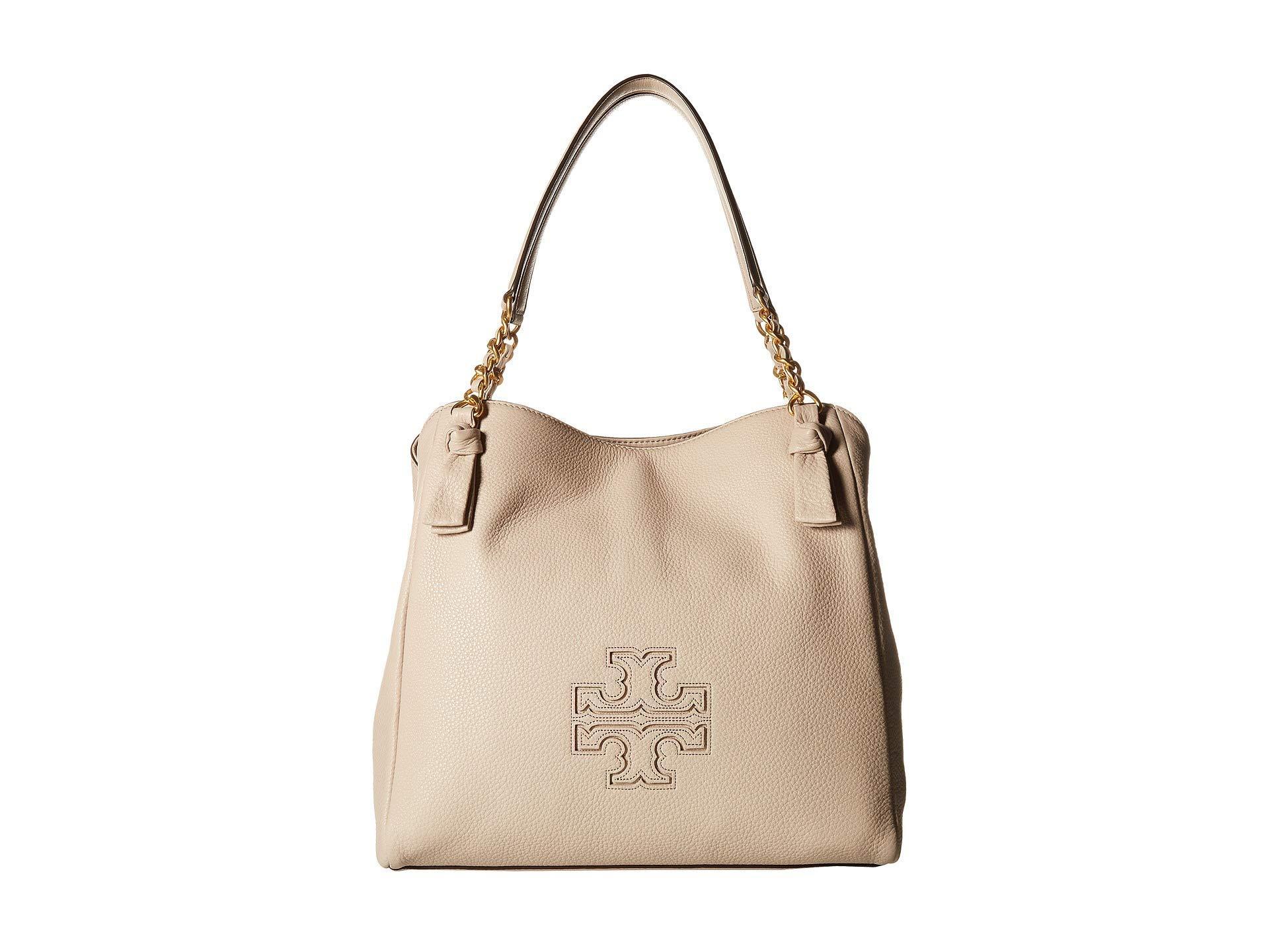 3653e0b957b2 Lyst - Tory Burch Harper Tote (bedrock) Tote Handbags in Natural