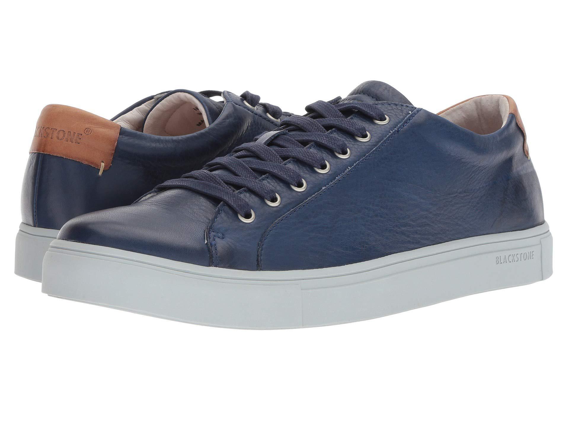 55e5aa5bca Blackstone - Blue Low Sneaker (charcoal) Men's Lace Up Casual Shoes for Men  -. View fullscreen