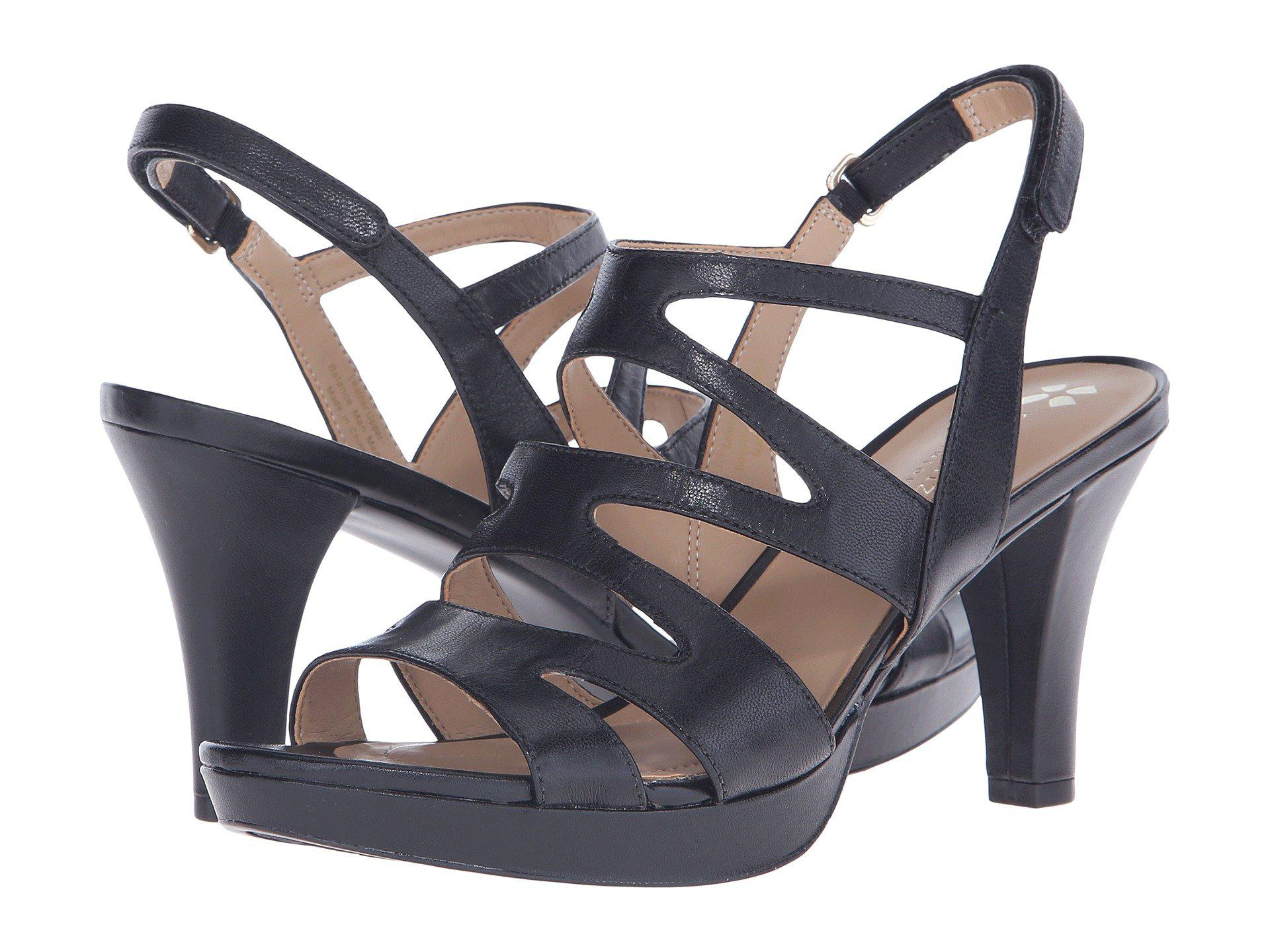 5ec0e30ef374 Naturalizer - Black Pressley (taupe Leather) High Heels - Lyst. View  fullscreen