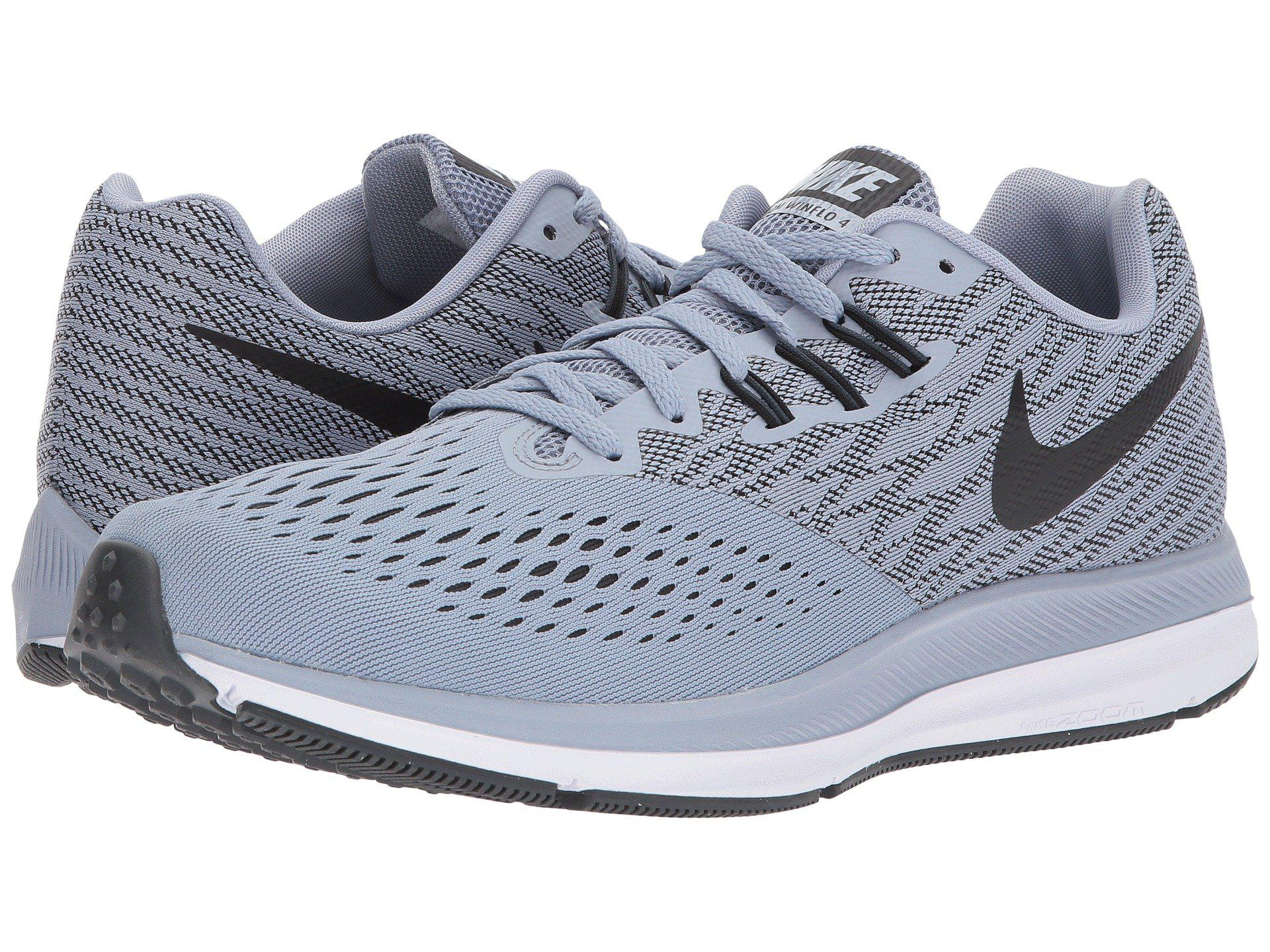 eaef1c57c18df Lyst - Nike Zoom Winflo 4 (pure Platinum black hyper Royal white ...