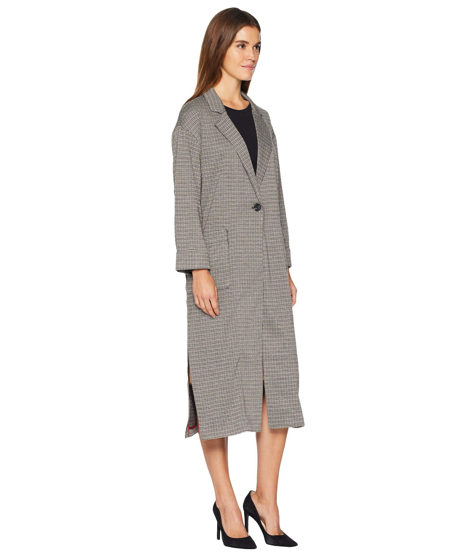 Sanctuary Bespoke Long And Lean Duster Jacket (knit