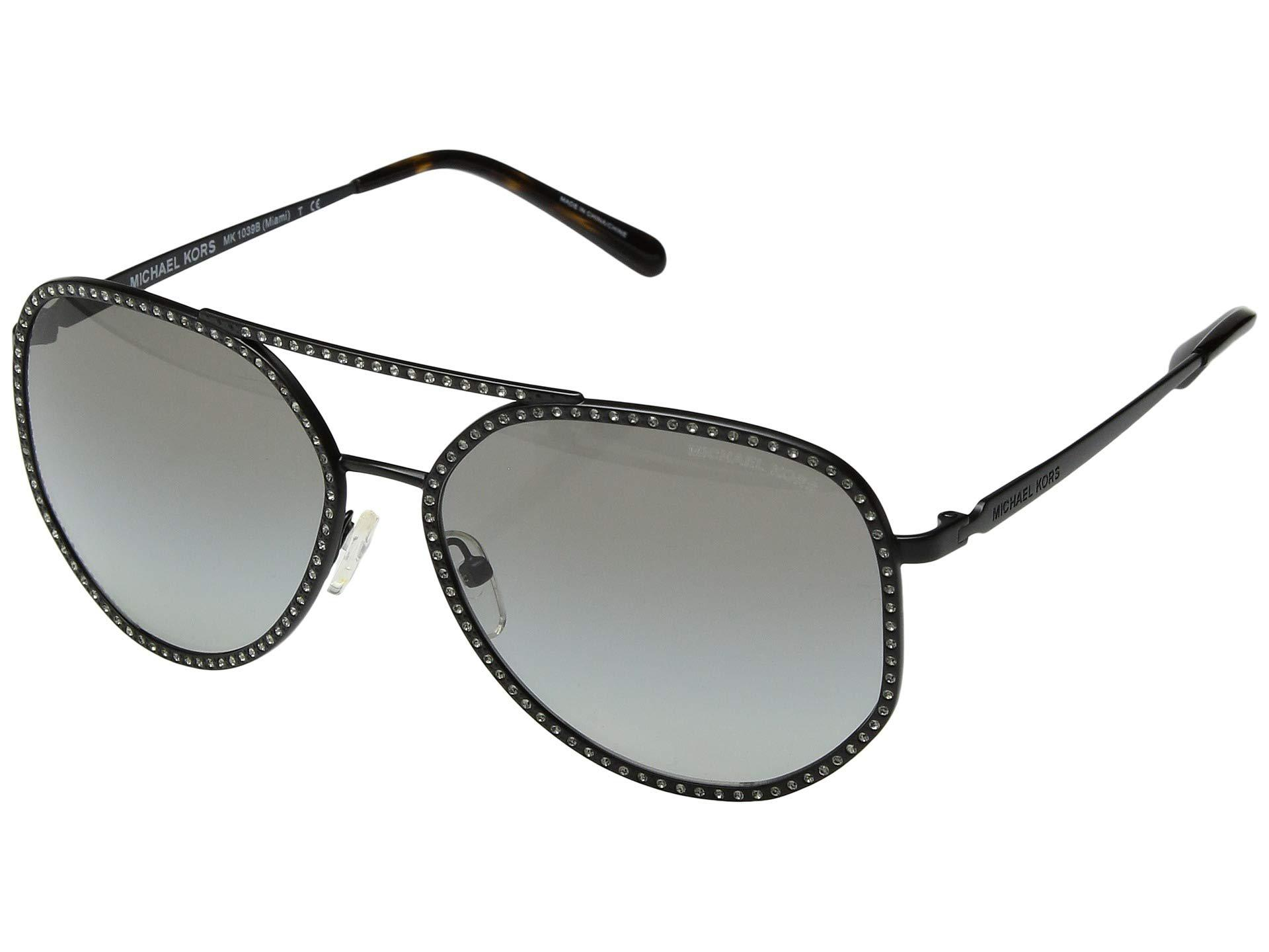 ed73c323ec Michael Kors - Gray 0mk1039b 58mm (shiny Silver pink Silver Mirror) Fashion  Sunglasses. View fullscreen