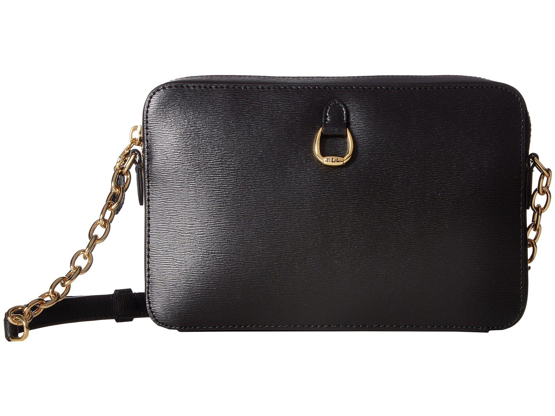 9e0fdf74b7fb Lyst - Lauren by Ralph Lauren Bennington Camera Bag Crossbody Medium ...