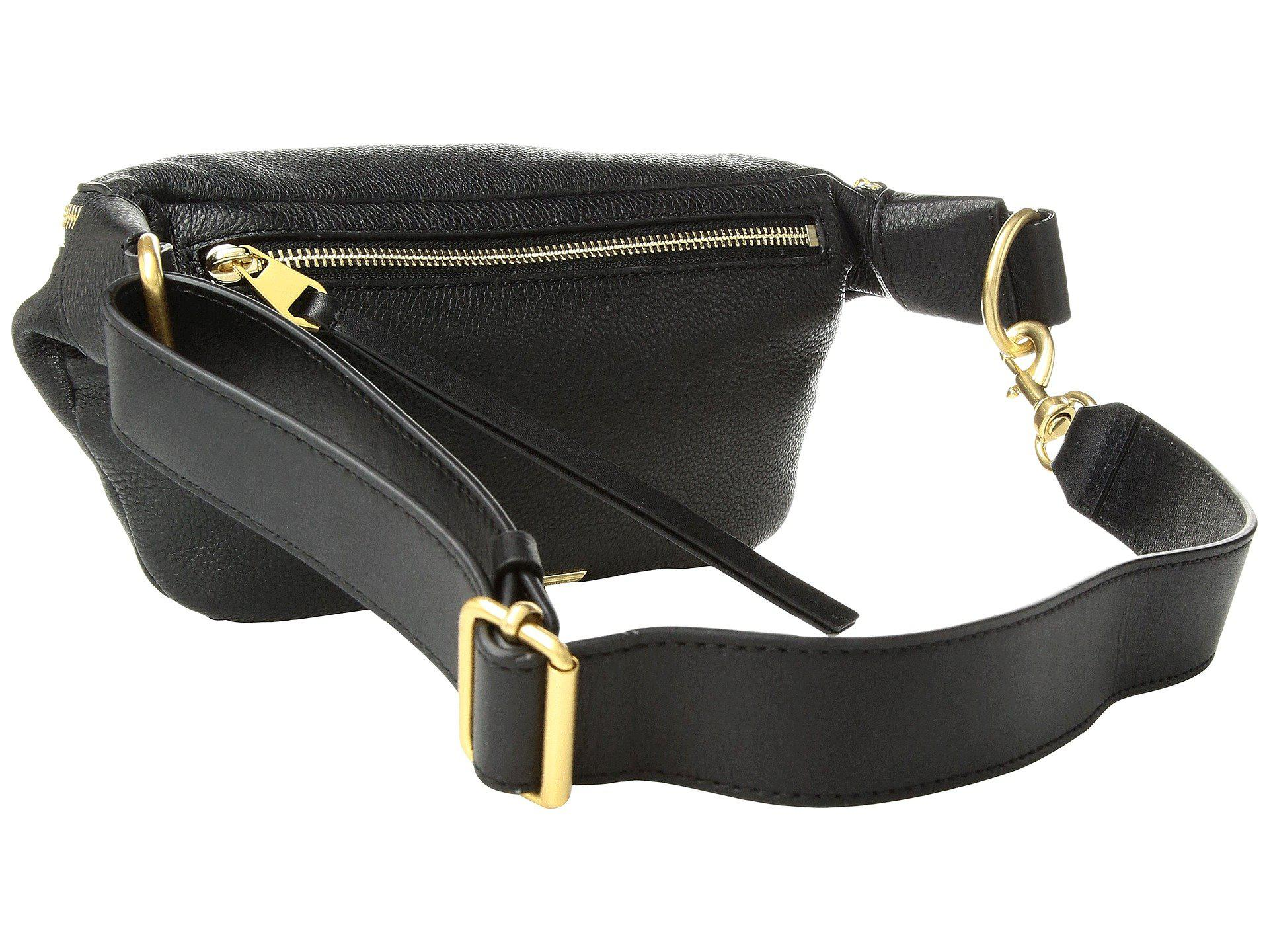 cbdff28da6c5 Rebecca Minkoff - Black Bree Belt Bag (mink) Handbags - Lyst. View  fullscreen