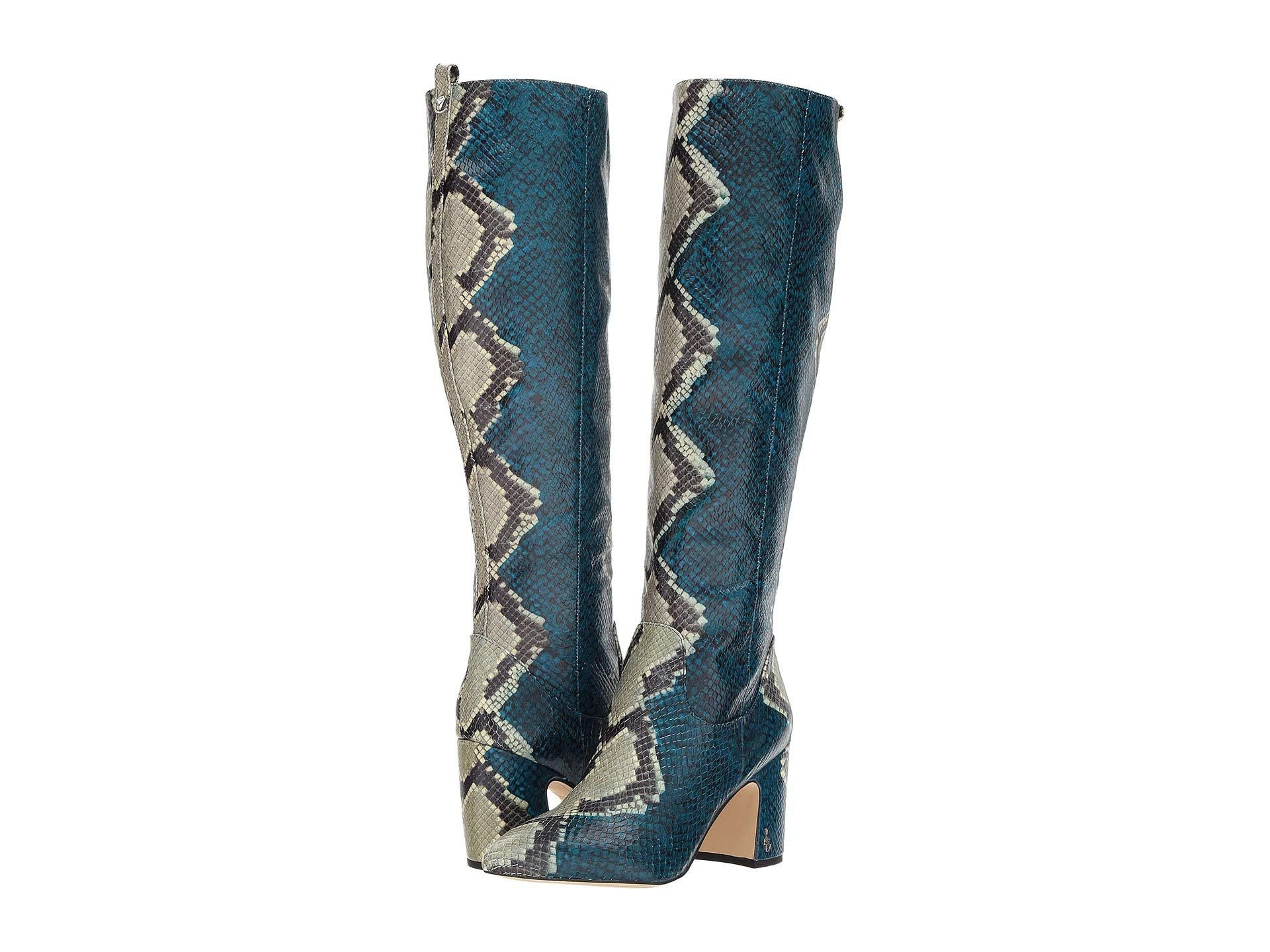 5376e4f0dd1 Lyst - Sam Edelman Hai Knee High Boot in Blue - Save 60%