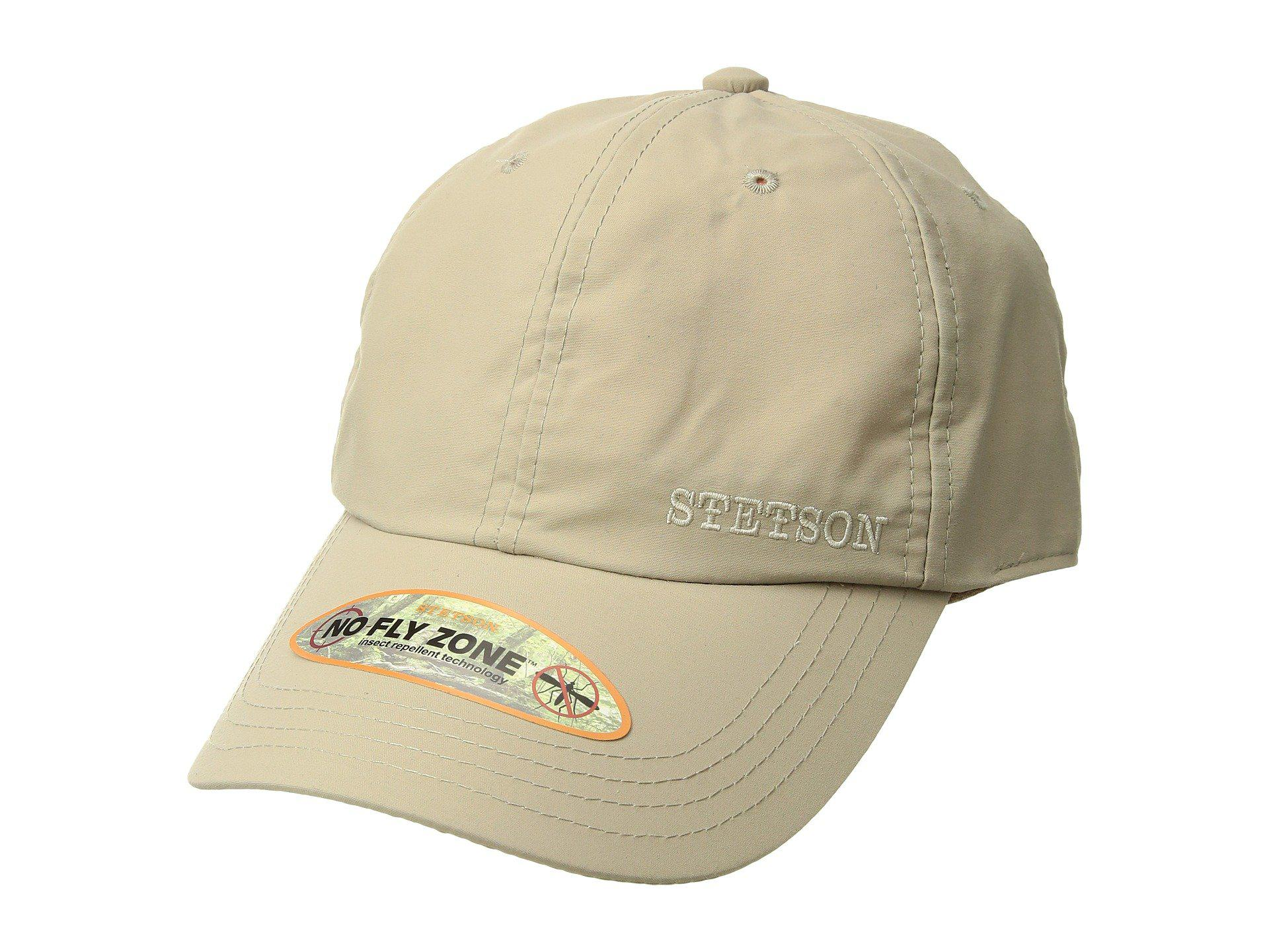 872b6031672 Lyst - Stetson No Fly Zone Baseball Cap (khaki) Baseball Caps in ...
