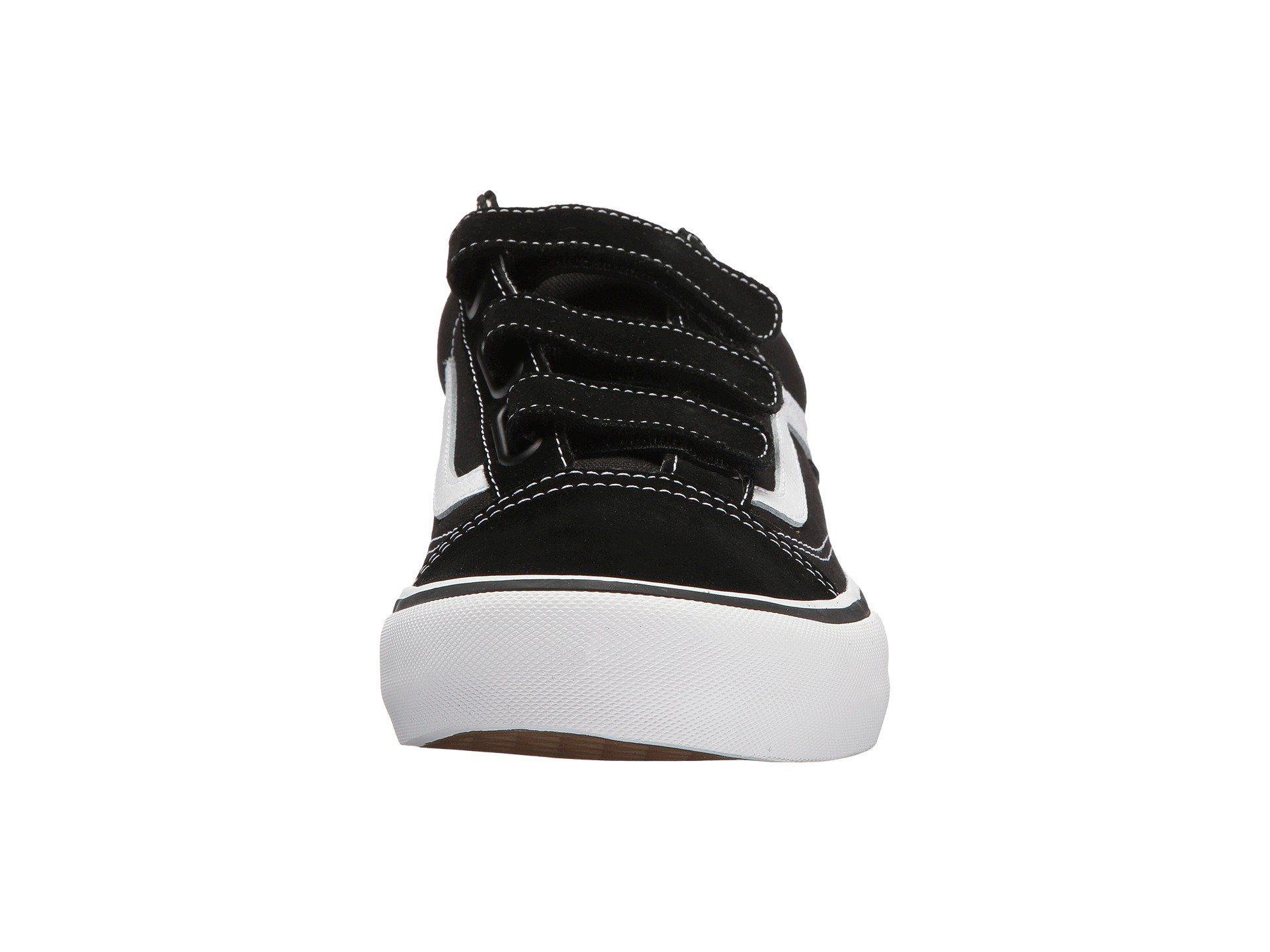 f42f6efe2c9d52 Lyst - Vans Old Skool V Pro (black white) Men s Skate Shoes in Black ...