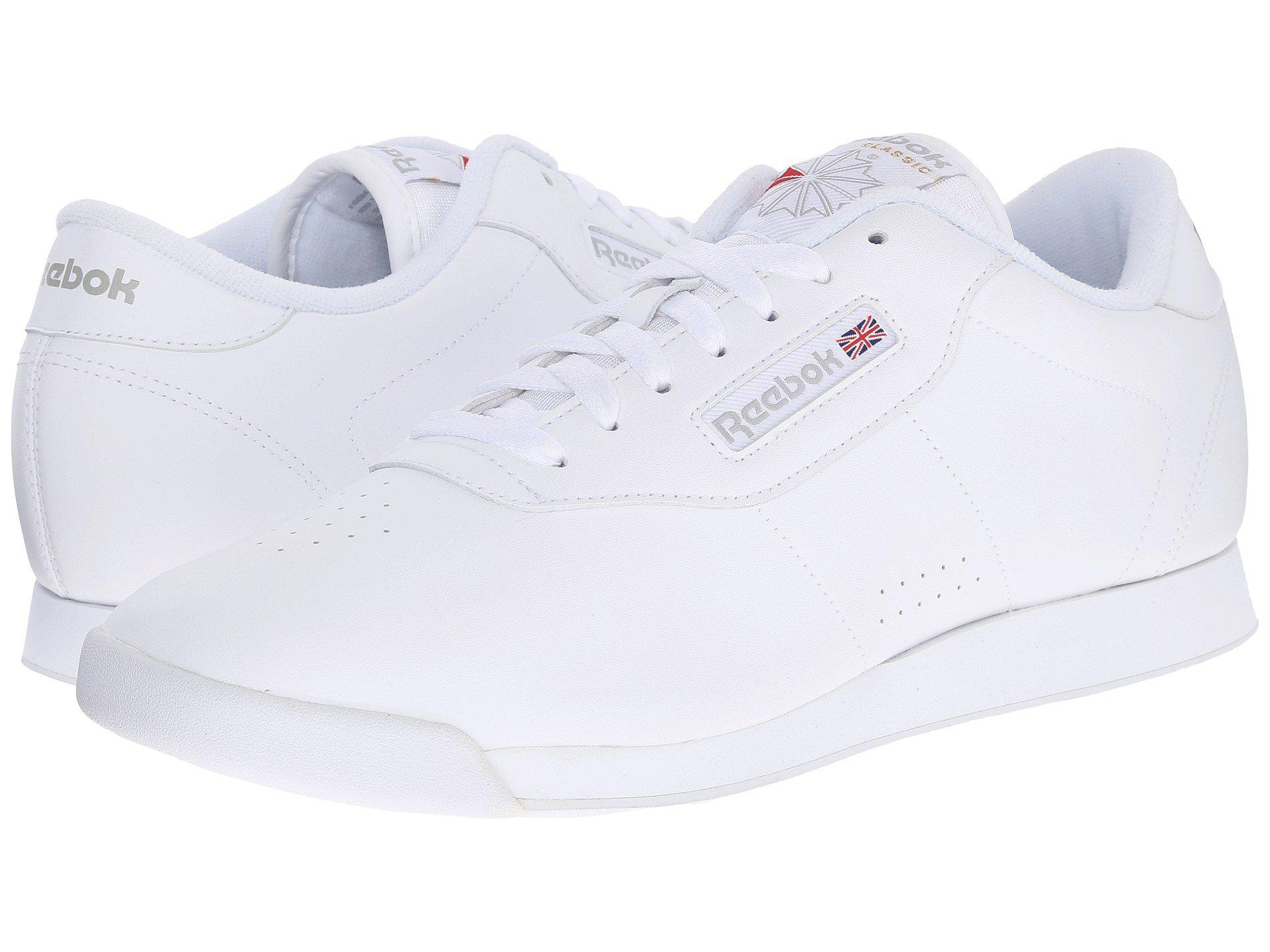 3706440e0d36 Lyst - Reebok Princess (black) Women s Classic Shoes in White