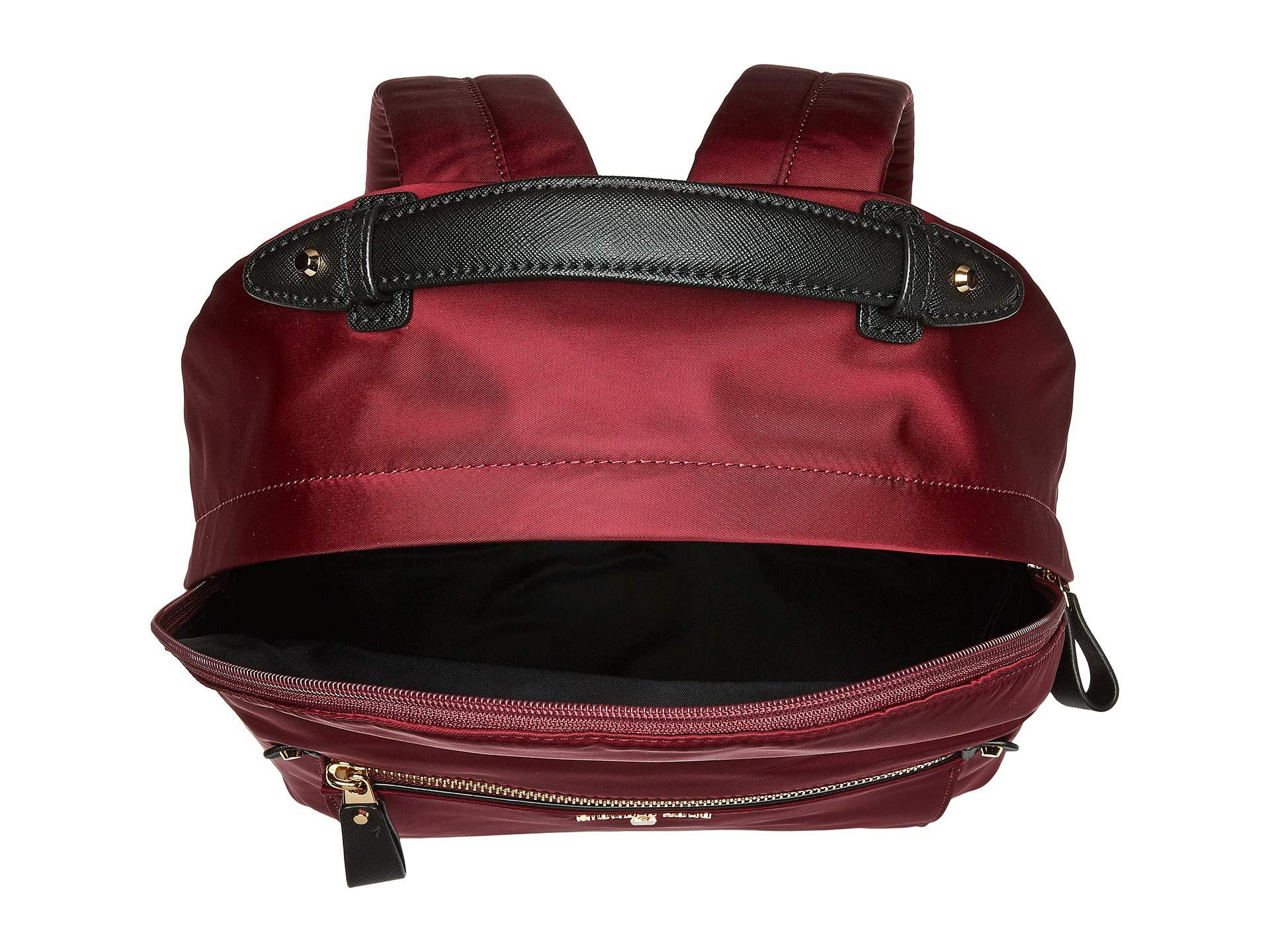203856198383 MICHAEL Michael Kors - Red Nylon Kelsey Large Backpack (plum) Backpack Bags  - Lyst. View fullscreen