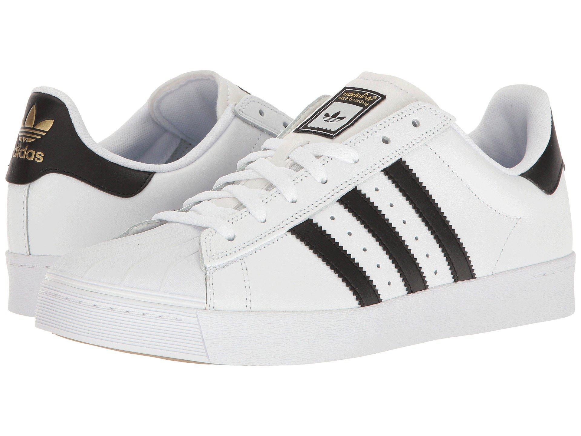 11163c4ea4c adidas Originals. Men s Superstar Vulc Adv (white black white) Skate Shoes