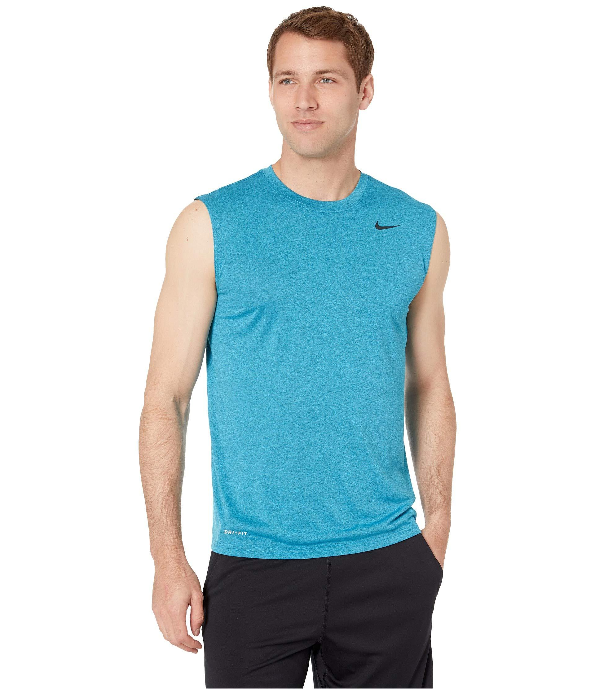 e8a5ccb9 Lyst - Nike Legend 2.0 Sleeveless Tee (black/black/matte Silver ...