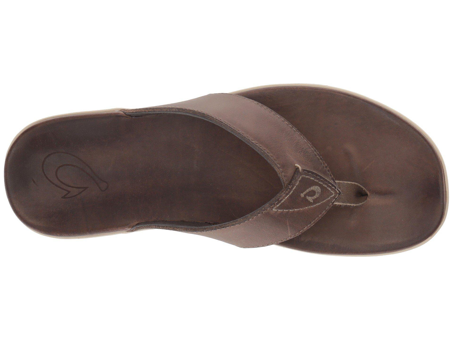 663a5a4e6f0f Lyst - Olukai Nalukai Sandal (husk husk) Men s Shoes in Brown for Men