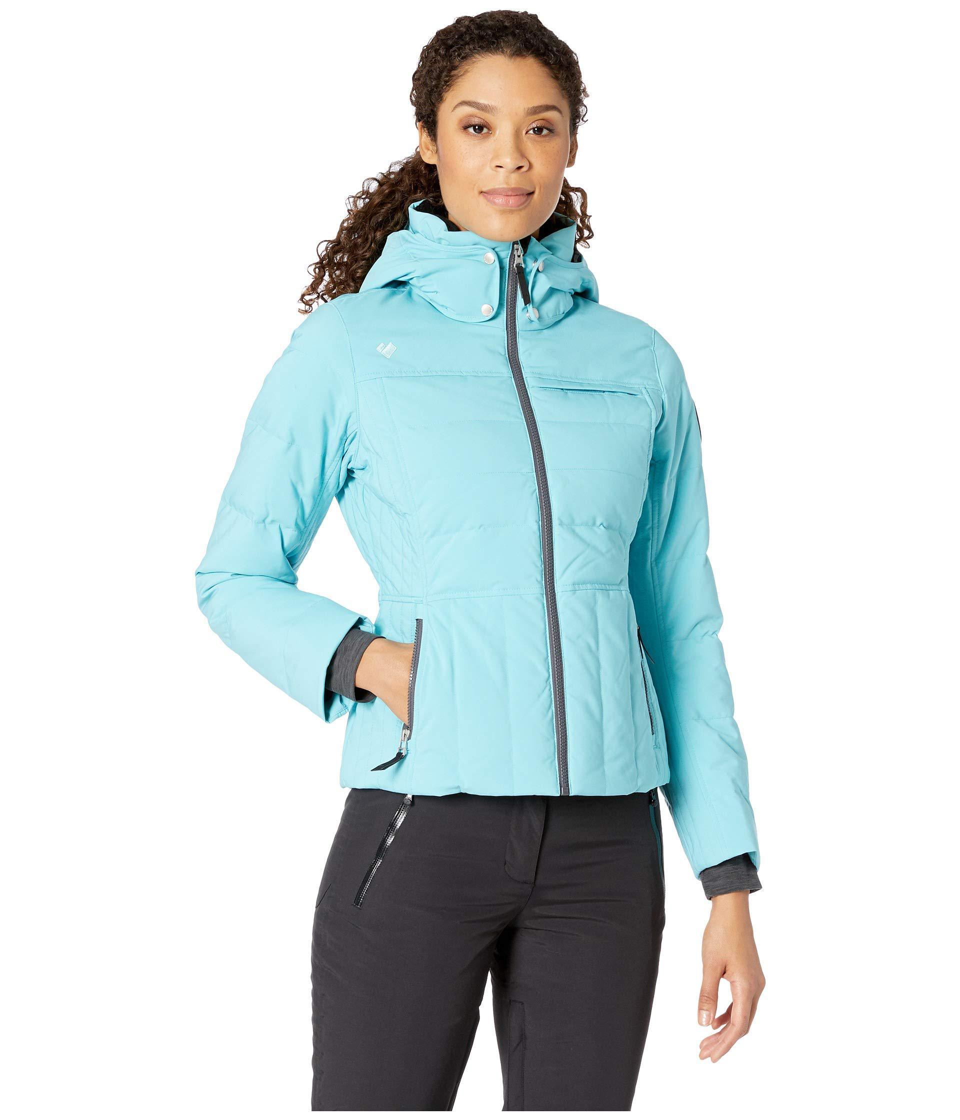 aa410cb8271 Lyst - Obermeyer Joule Down Jacket (dusk) Women s Coat in Blue
