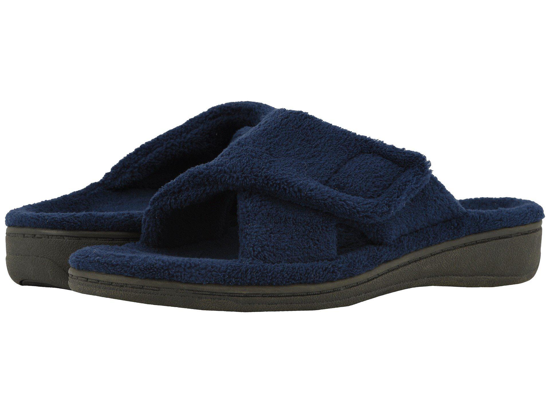 3c902271a9e2 Lyst - Vionic Relax (light Grey) Women s Slippers in Blue