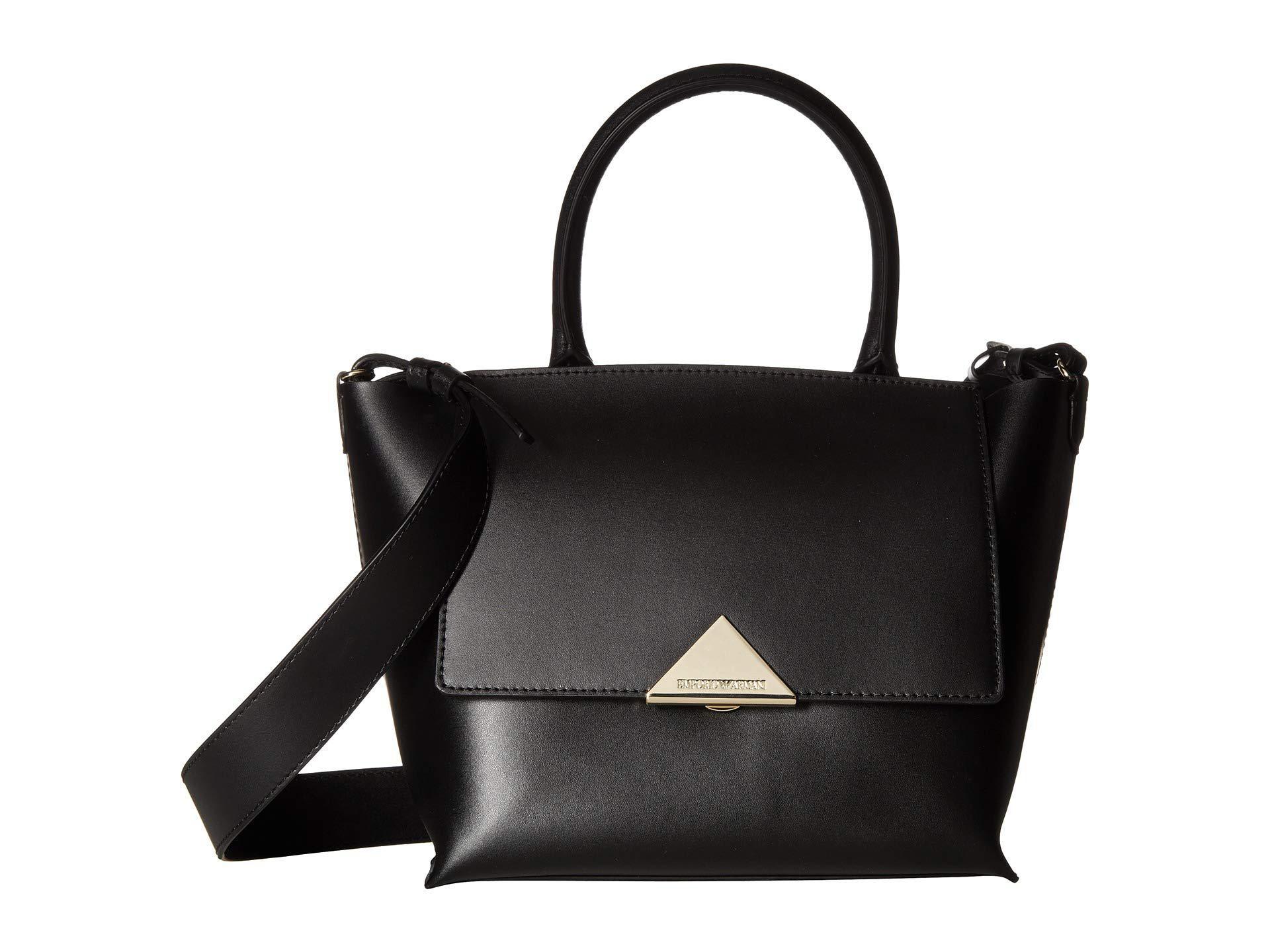 Emporio Armani Women S Faux Leather Handbag