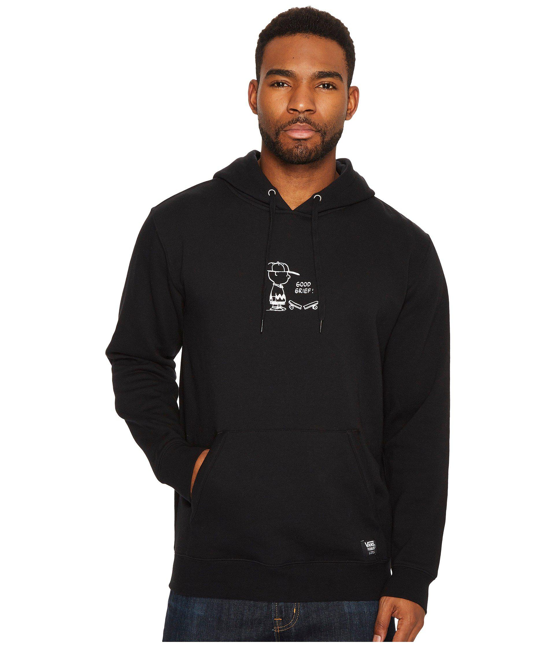 f4298069e38 Lyst - Vans X Peanuts Good Grief Pullover Hoodie in Black for Men