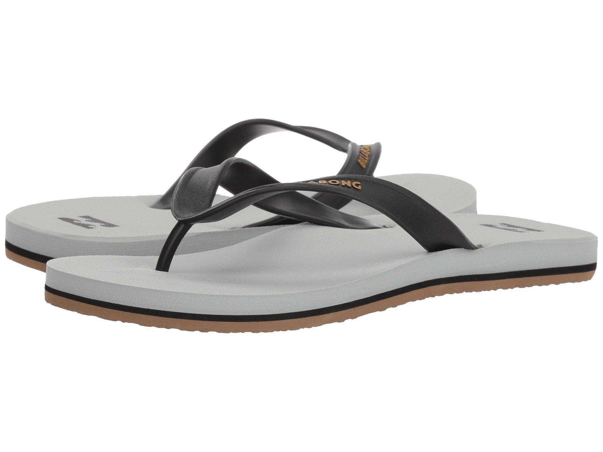 c14815e1a4de Lyst - Billabong All Day Solid Sandal (black 1) Men s Sandals in Gray