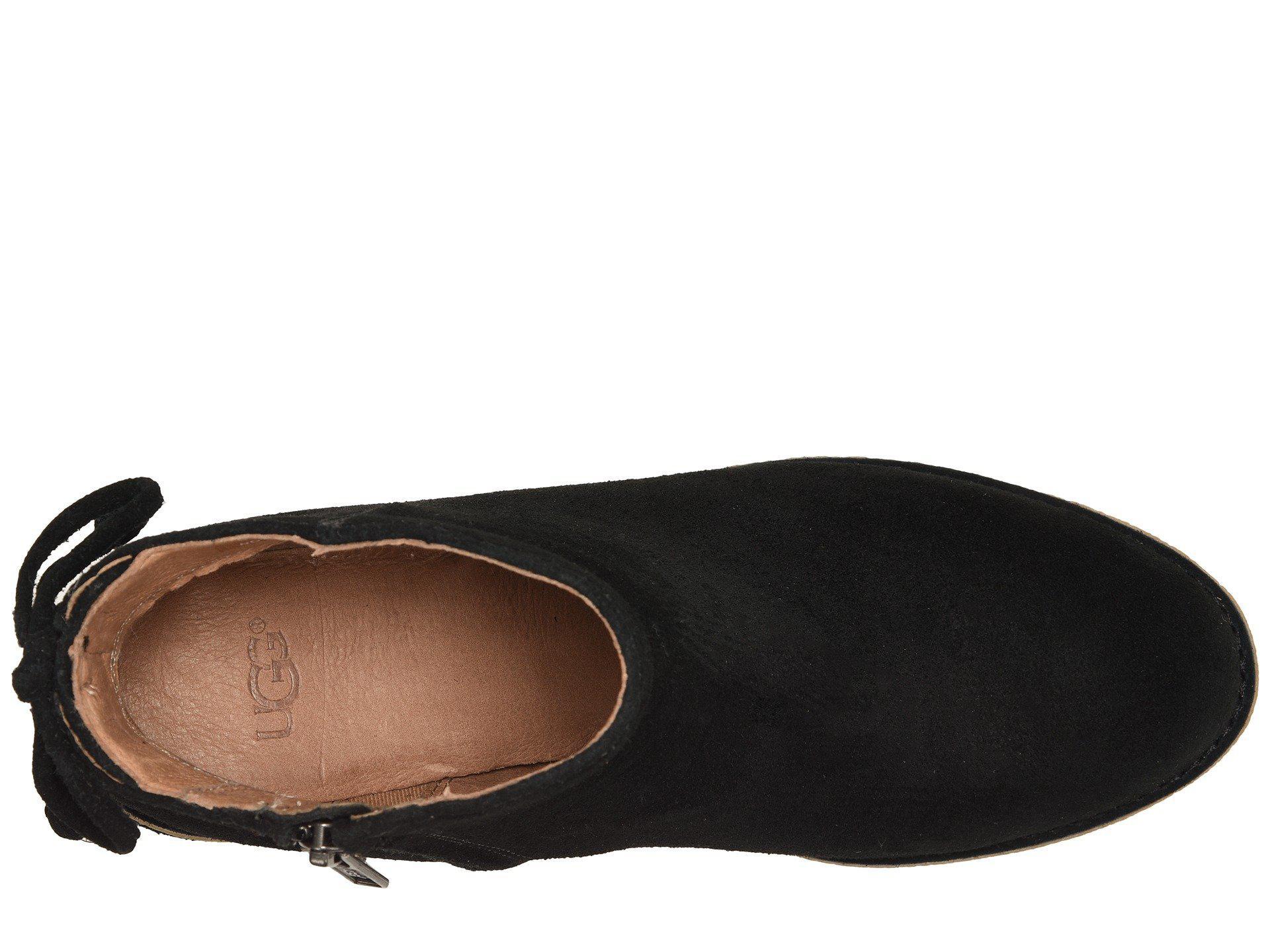 Lyst - UGG Corinne Boot (black) Women s Zip Boots in Black 9d4916af9
