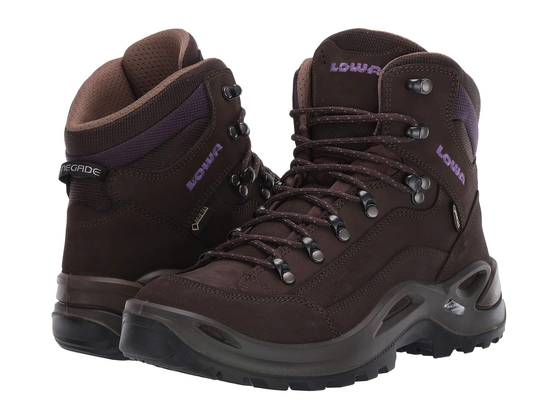ef5d797b207 Lyst - Lowa Renegade Gtx Mid Ws (slate/blackberry) Women's Hiking Boots