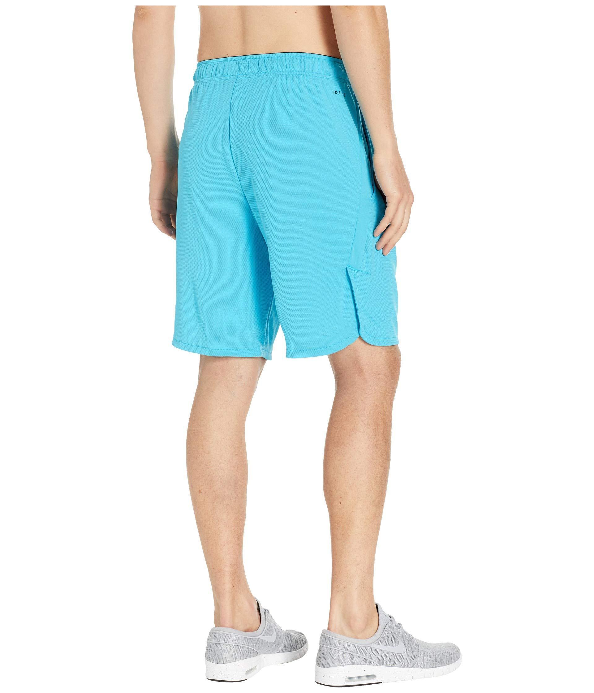 super popular ff3ae bde6a Lyst - Nike Dri-fit 9 Training Short (black dark Grey) Men s Shorts ...
