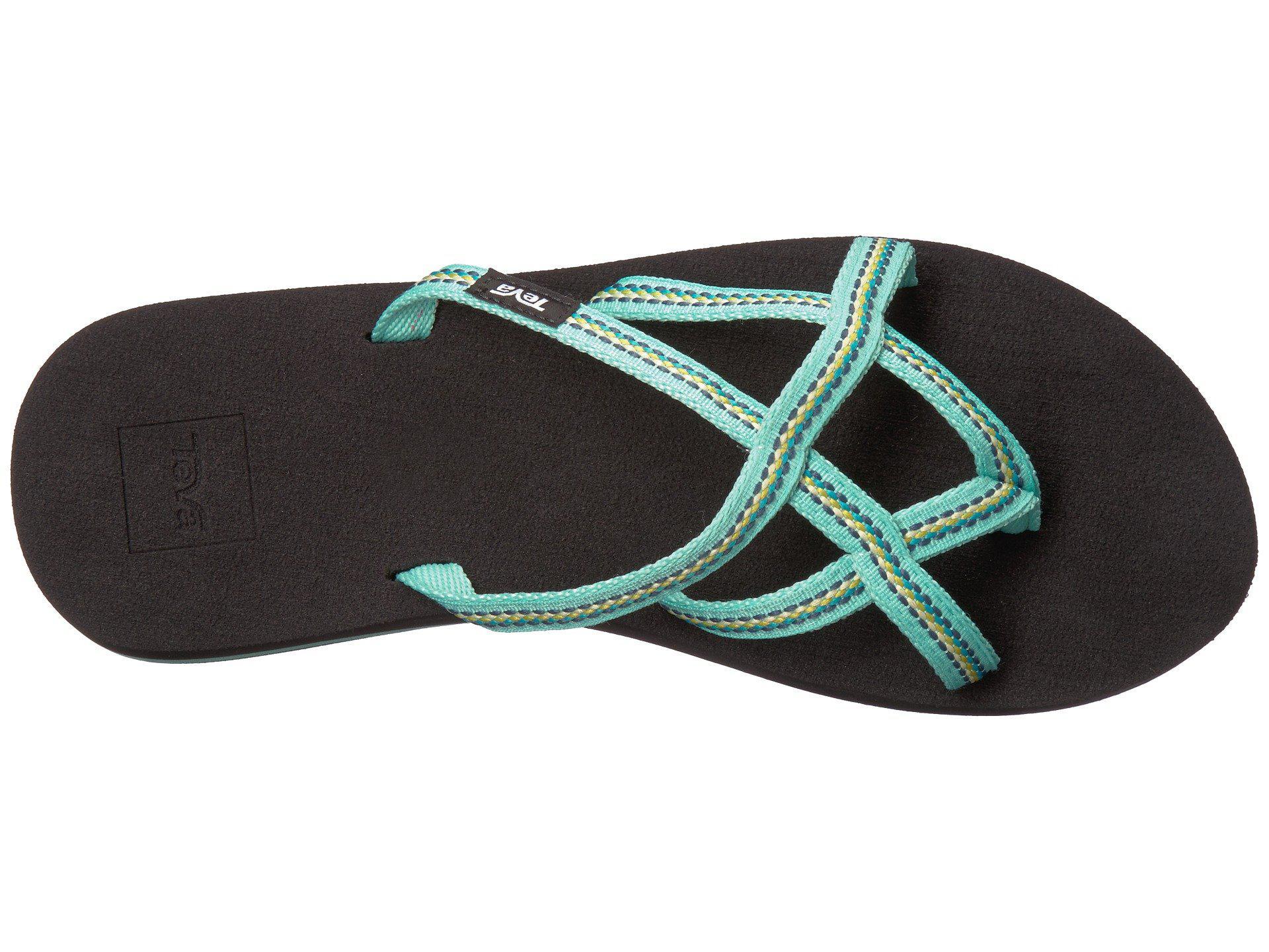 7764b0be86f933 Lyst - Teva Olowahu 2-pack (mbob lindi Seaglass) Women s Sandals