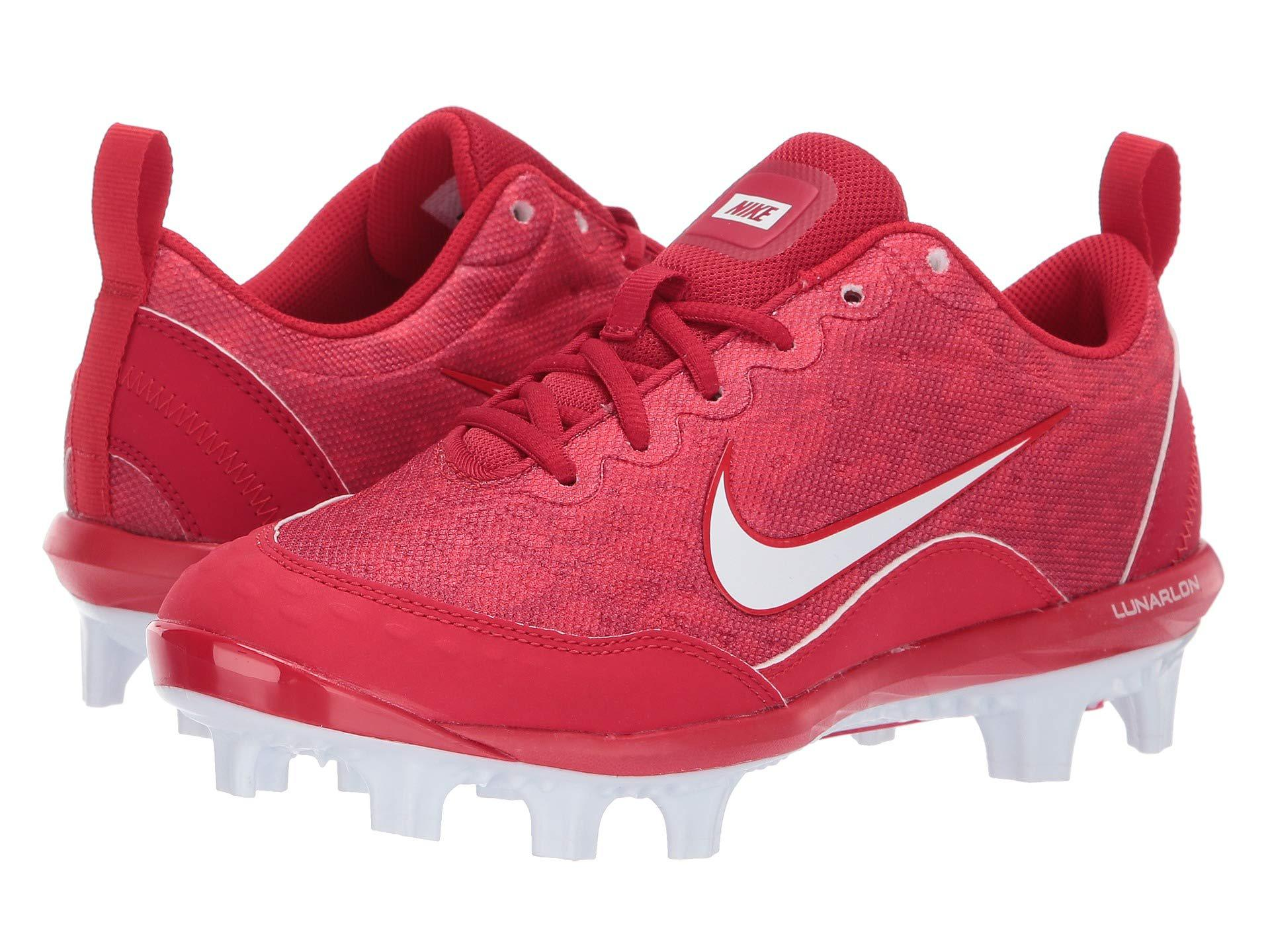 b00a746be Nike. Red Hyperdiamond 2 Pro Mcs (wolf Grey thunder Grey pure Platinum) Women s  Cleated Shoes