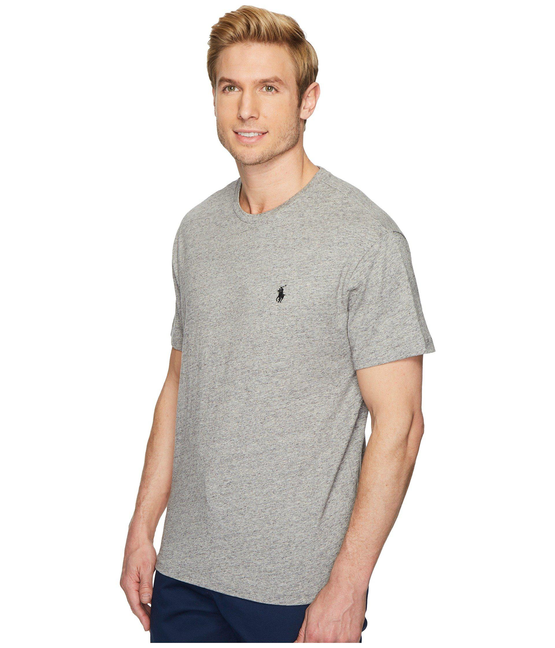 Lyst Polo Ralph Lauren Classic Fit Crew Neck T Shirt Rl Black