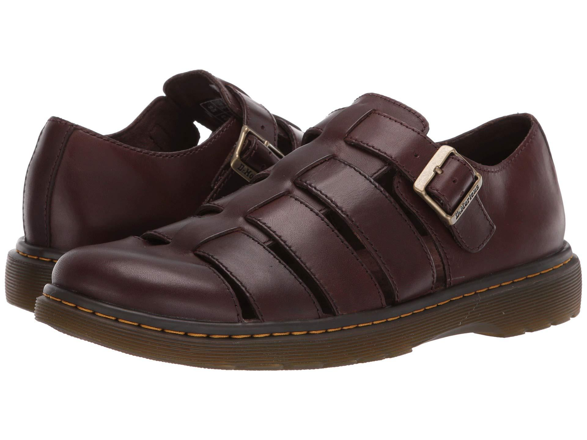 079b1edcee Lyst - Dr. Martens Fenton Westfield (black) Men's Sandals in Brown ...
