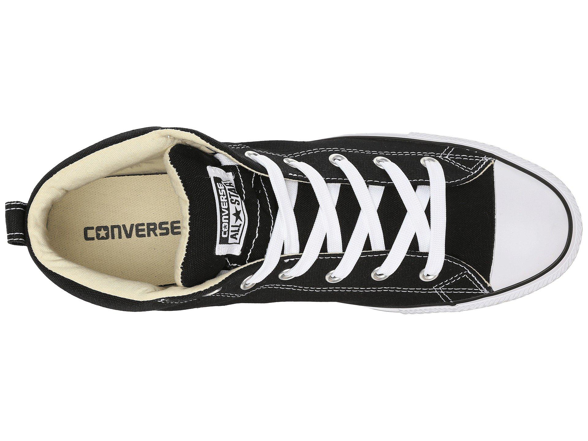 7a9f021662a3f6 Converse - Black Chuck Taylor(r) All Star(r) Street Core Canvas. View  fullscreen