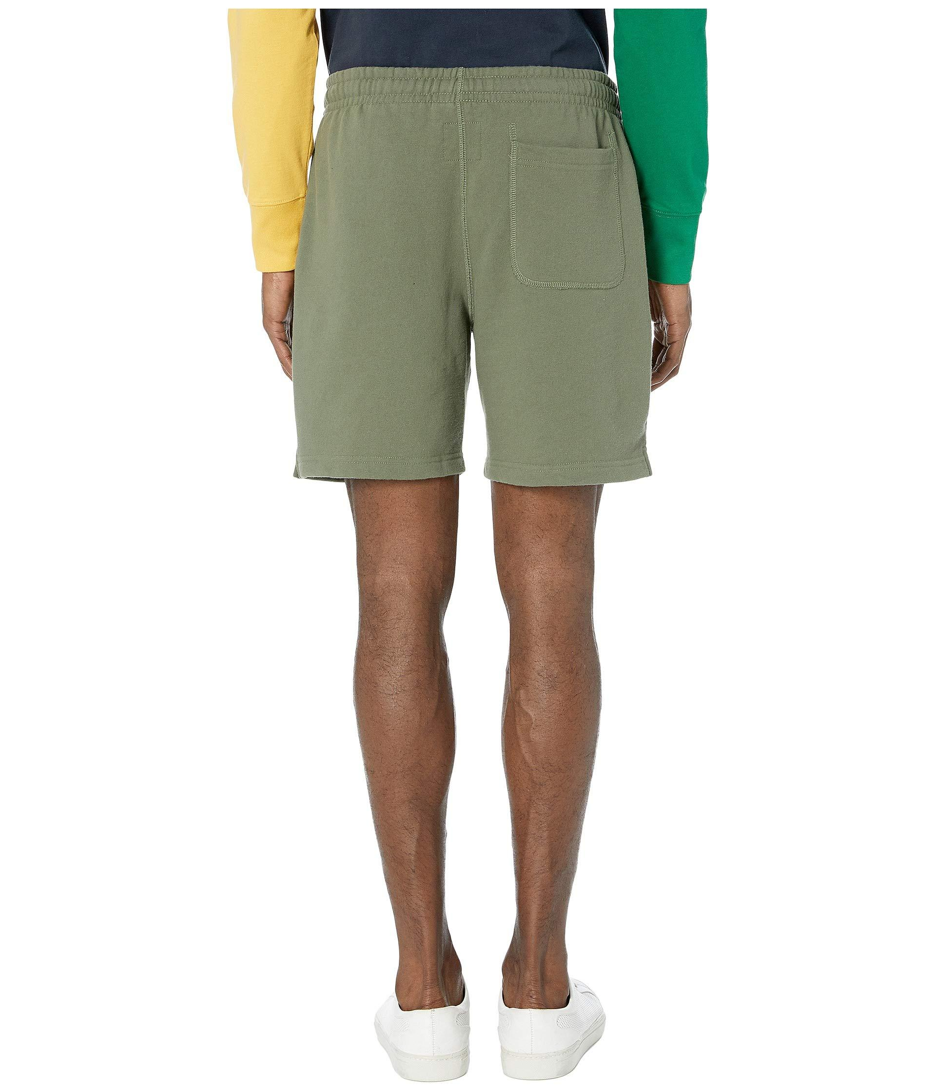 e3a8de5bd3 Todd Snyder + Champion Script Warm Up Shorts (olive Grove) Men's ...