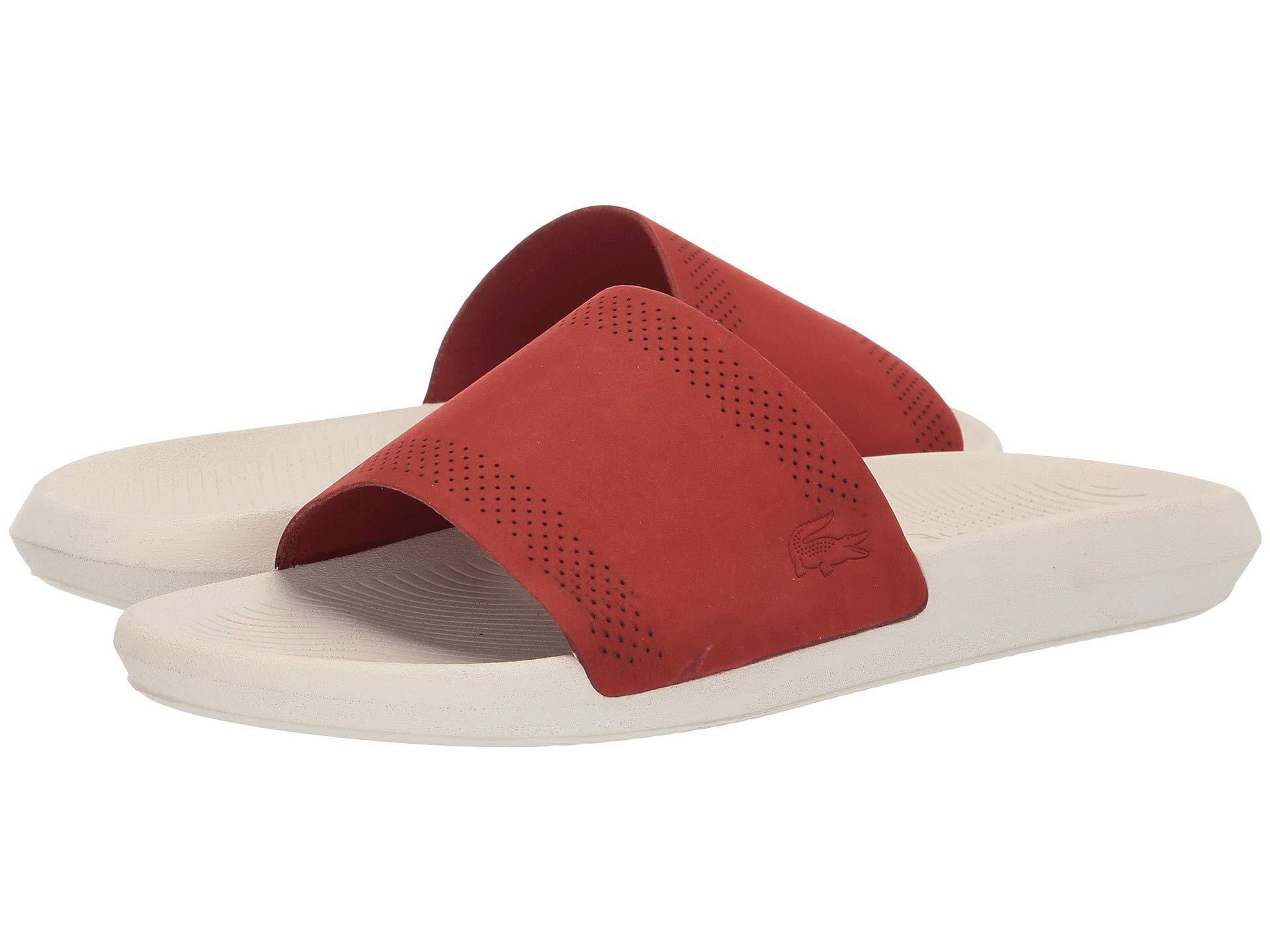 afde4216c Lyst - Lacoste Croco Slide 119 5 (navy off-white) Men s Shoes for Men