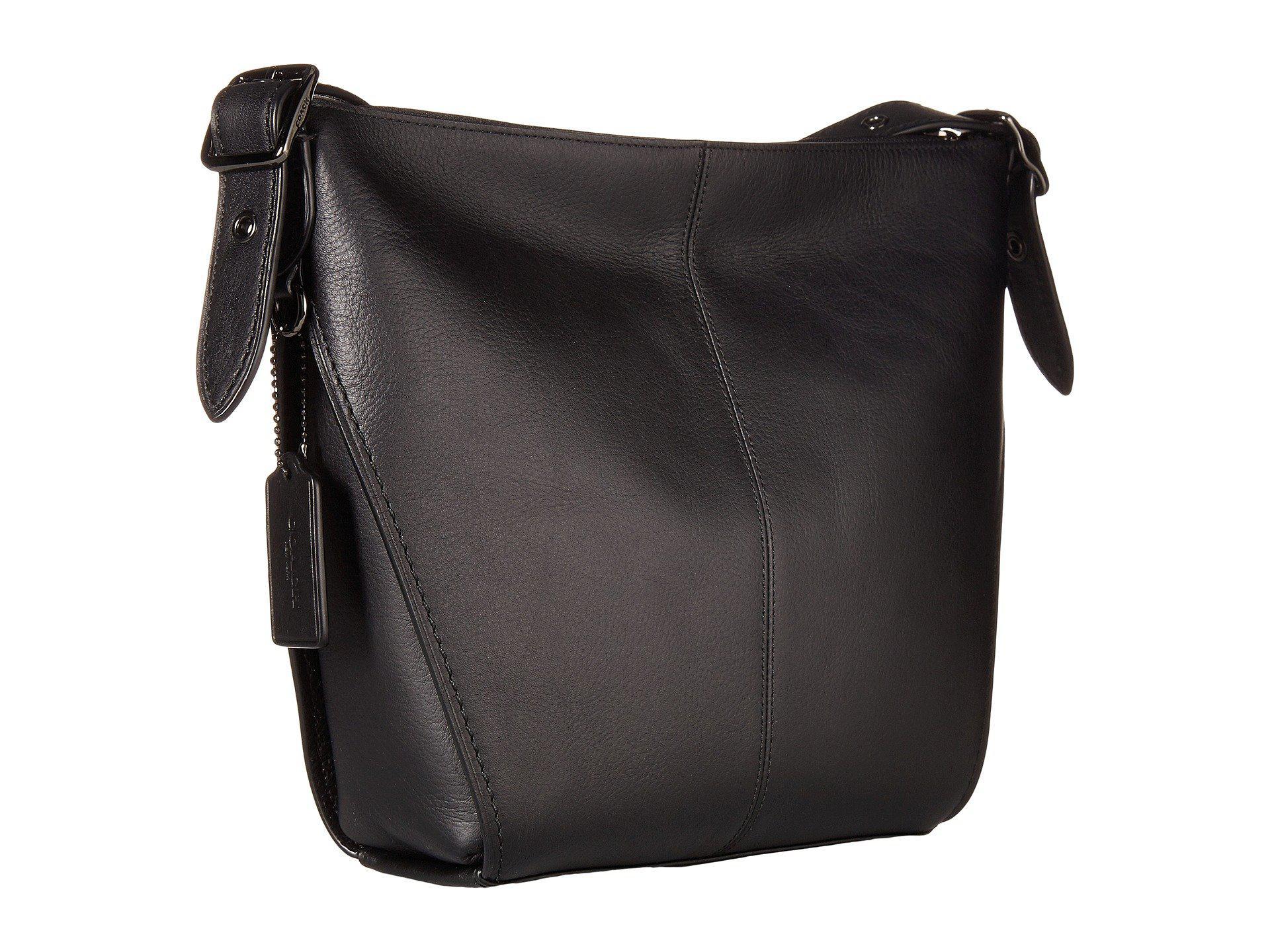 70f402dea017 Lyst - COACH Small Dufflette In Natural Calf Leather (dk chalk ...