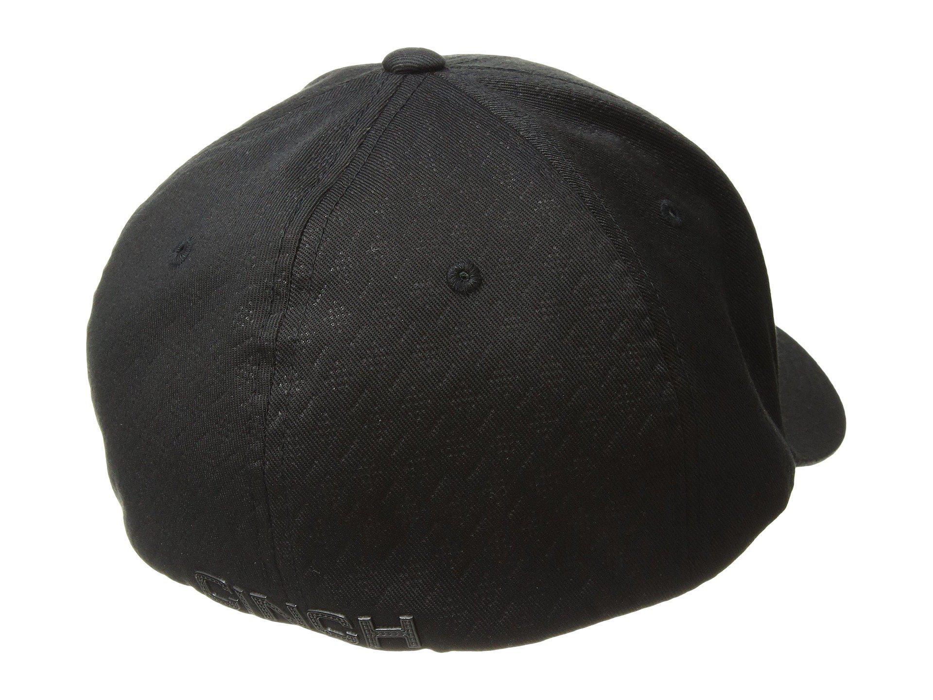 Lyst - Cinch Mid-profile Flexfit 3d Hat in Black for Men 0c49c22f036b