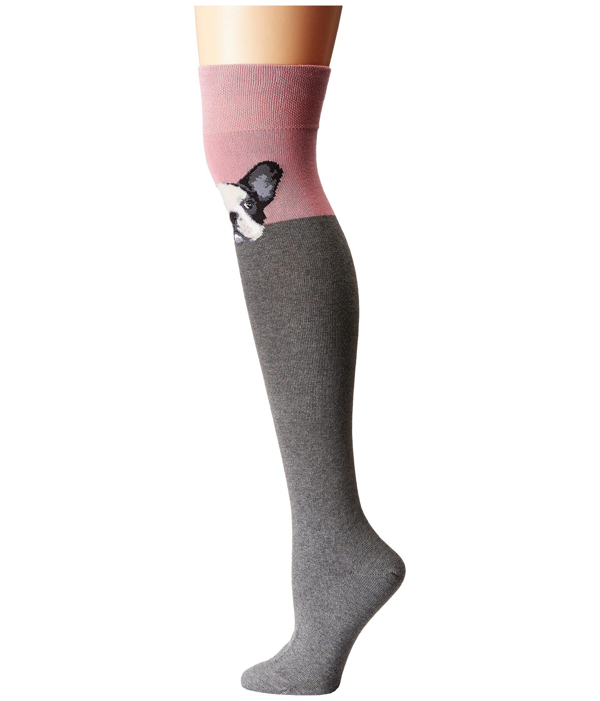 cf7200f27 Lyst - Socksmith French-knee (dusty Pink) Women s Knee High Socks ...