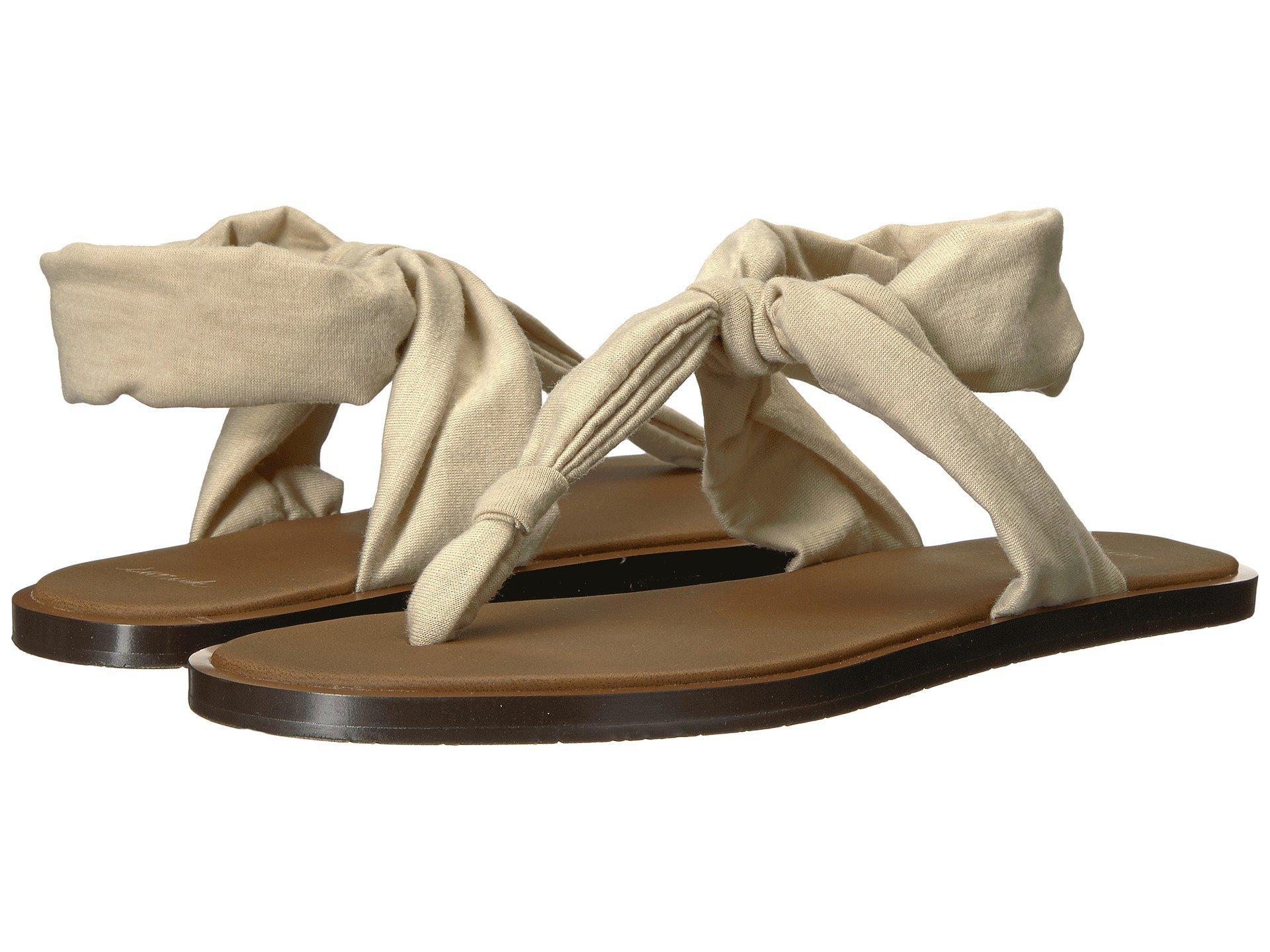 e243c16027e51 Lyst - Sanuk Yoga Sling Ella Lx (natural) Women s Sandals in Natural