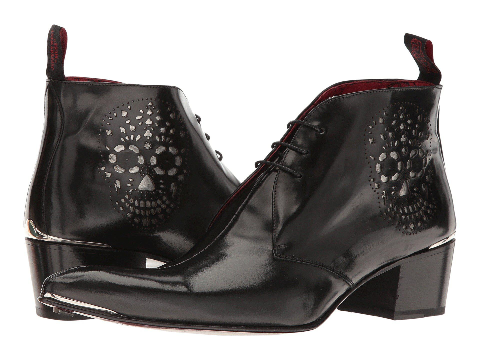 da27be0a14d156 Lyst - Jeffery West Sylvian Day Dead (college Black) Men s Shoes in ...