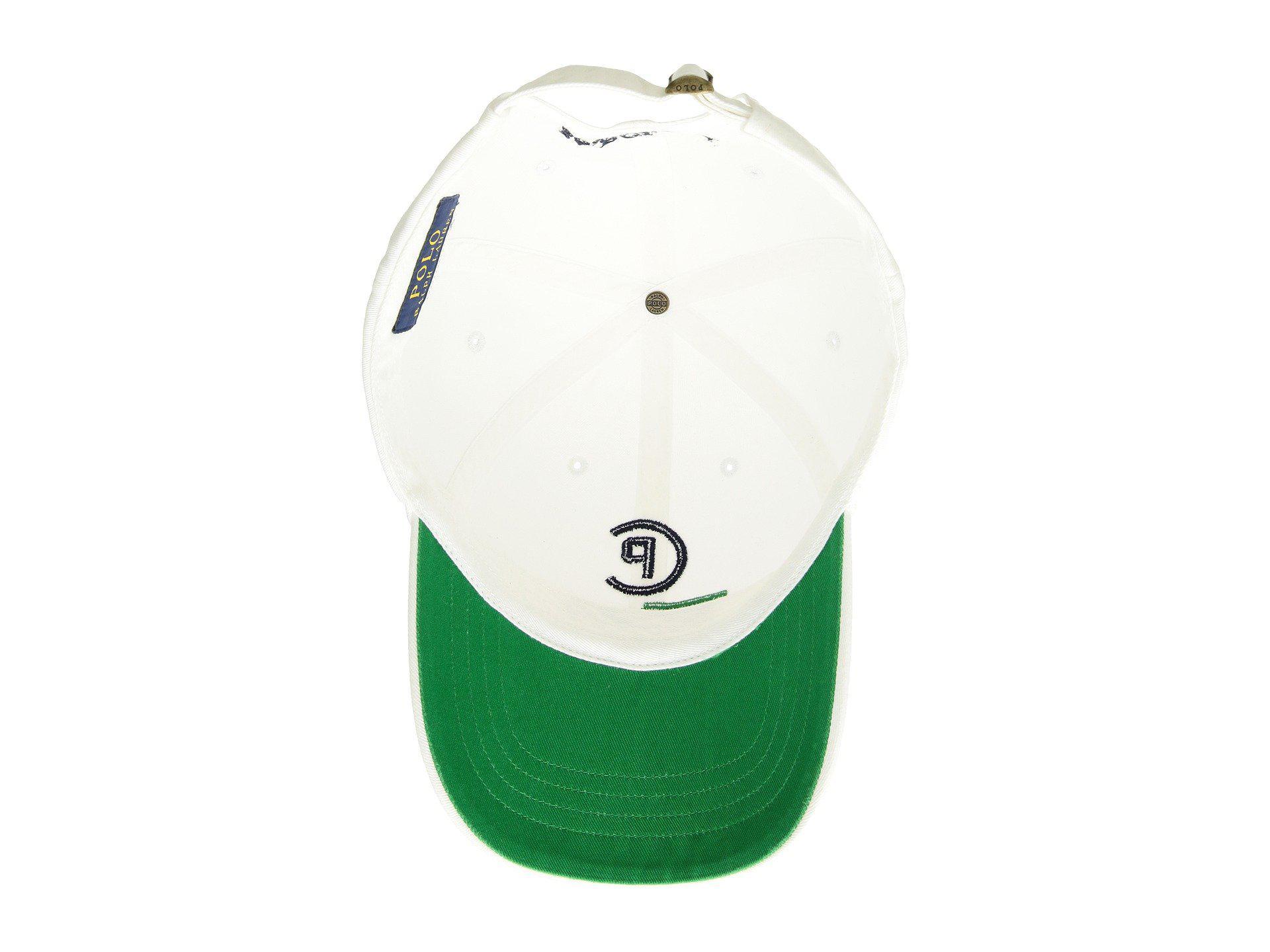 ac00426dd6e Polo Ralph Lauren - Cp-93 Cotton Chino Classic Sport Cap (white) Caps. View  fullscreen