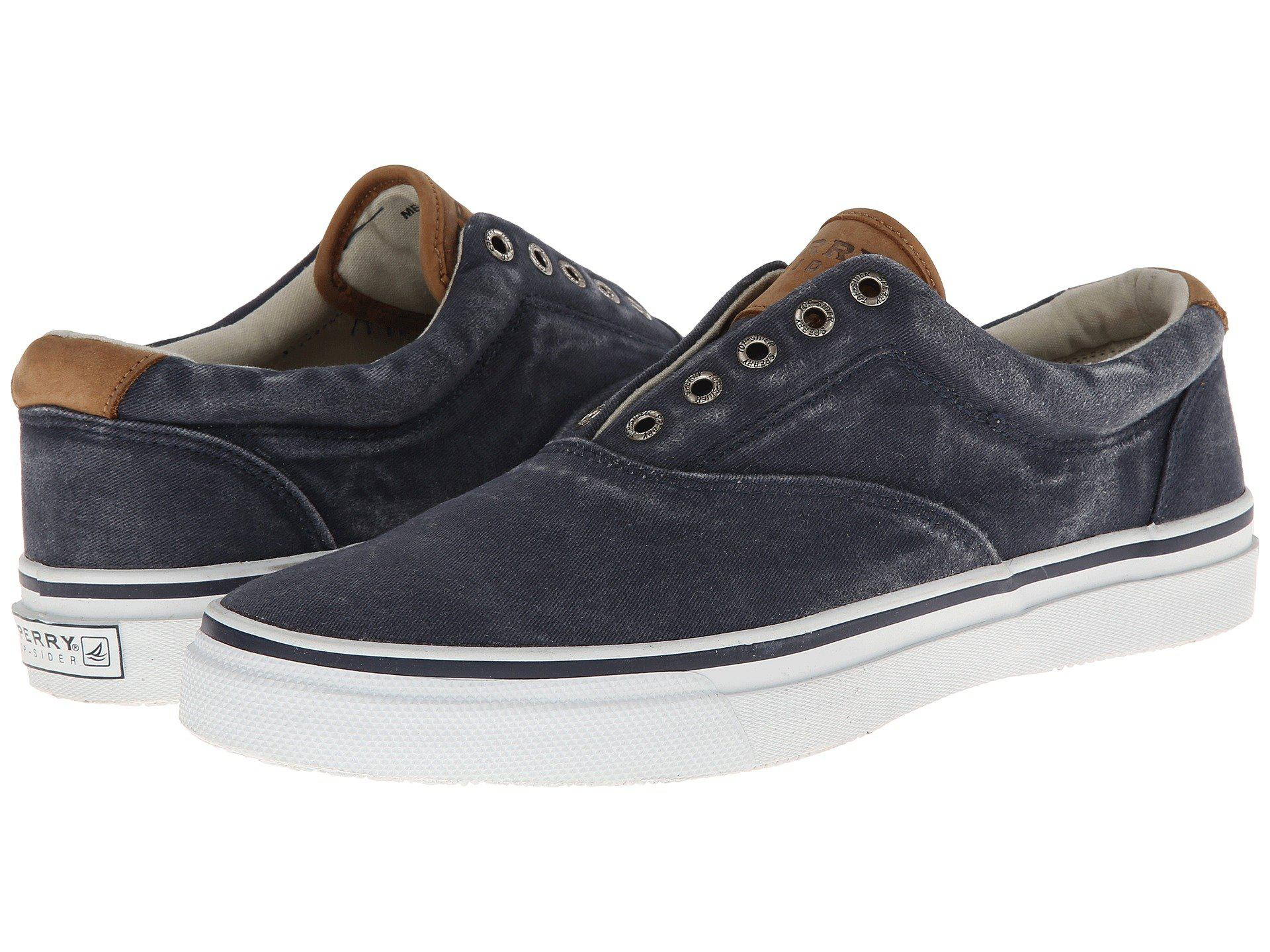 58fbc95d1dc7 Sperry Top-Sider. Blue Striper Cvo Salt-washed Twill (navy) Men s Lace Up  Casual Shoes