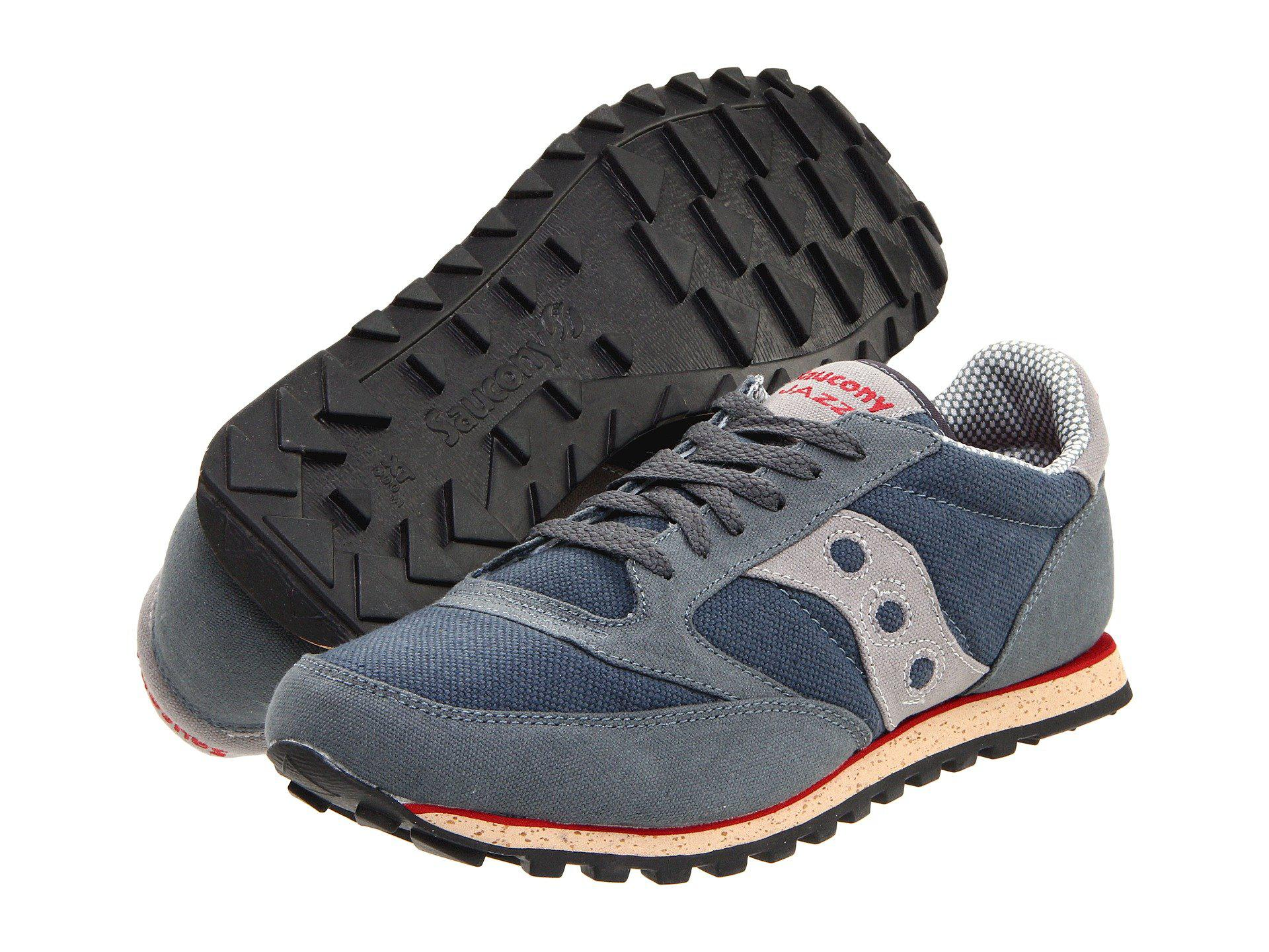 Saucony. Men's Gray Jazz Low Pro Vegan