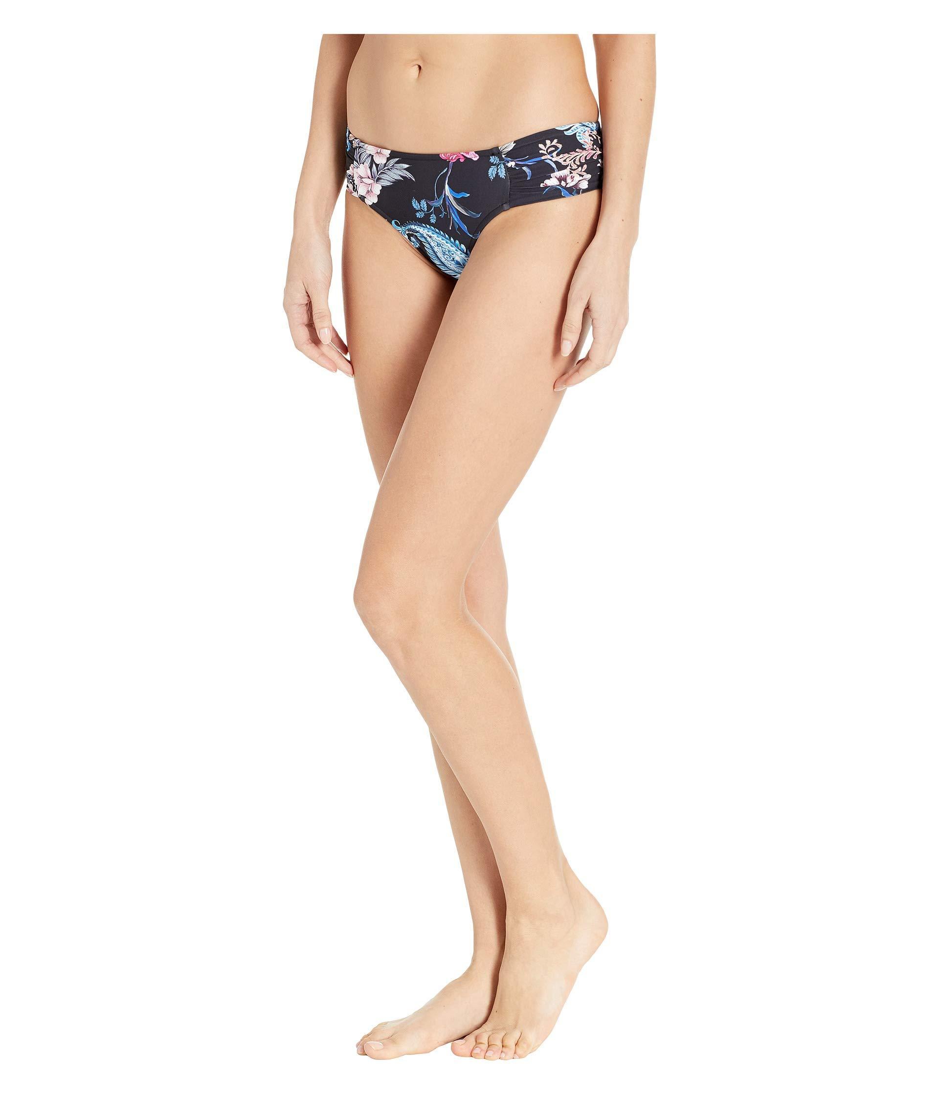 8931d44e64 Lyst - Seafolly Water Garden Ruched Side Retro Bottoms (black) Women's  Swimwear in Black