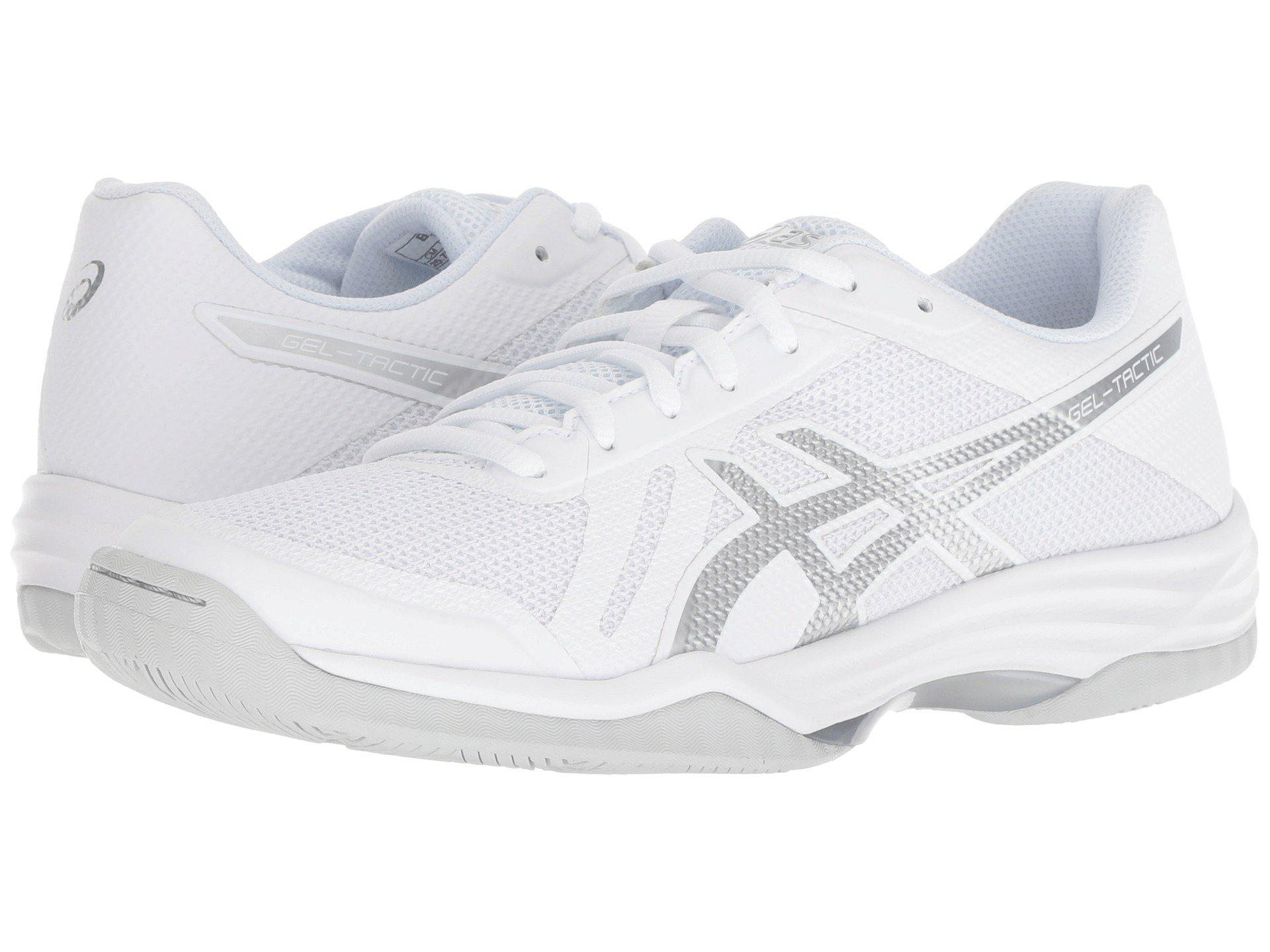 Lyst - Asics Gel-tactic 2 (real White deep Ocean) Women s Volleyball ... bf5032292b431