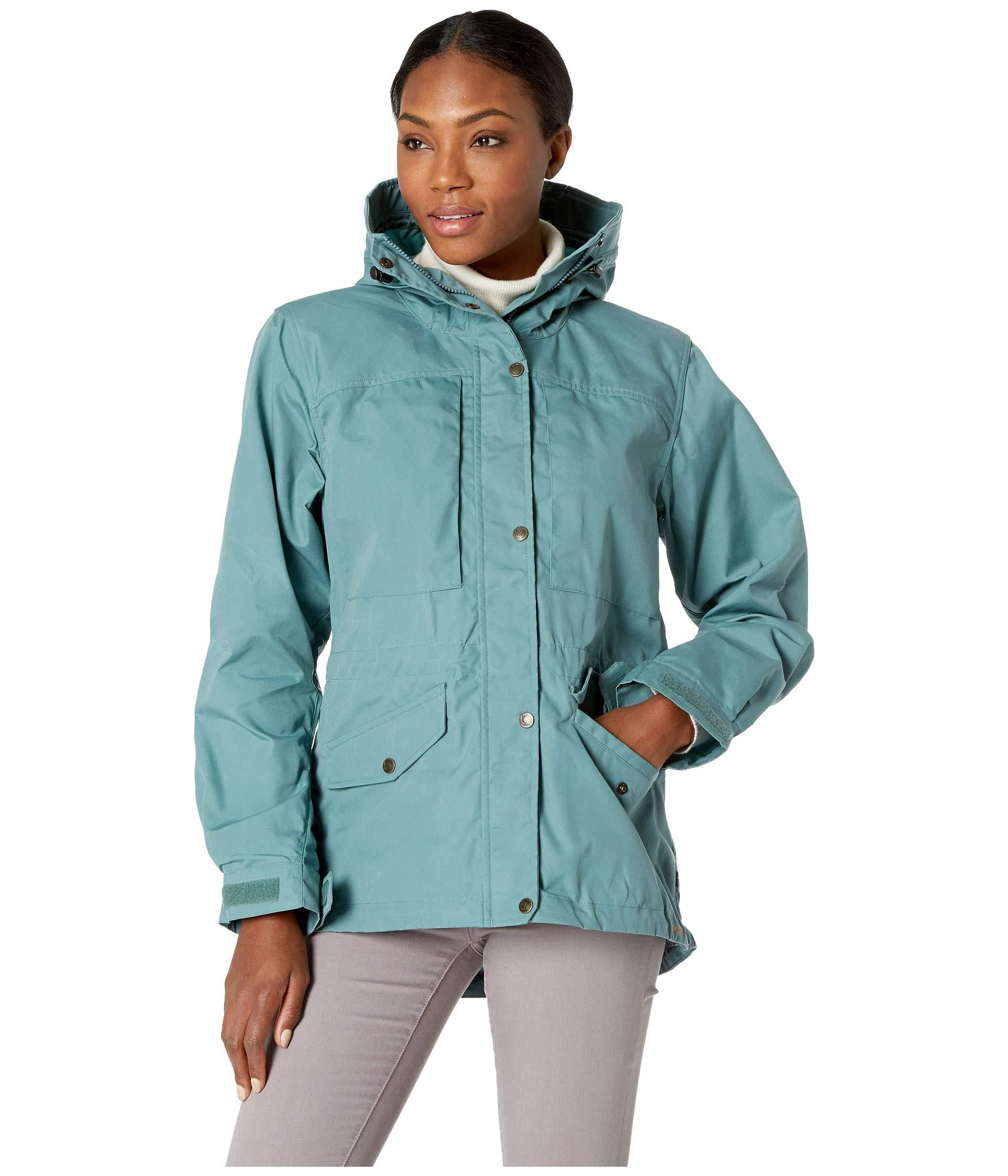 498df0080d8 Lyst - Fjallraven Sarek Trekking Jacket (frost Green) Women s Jacket ...