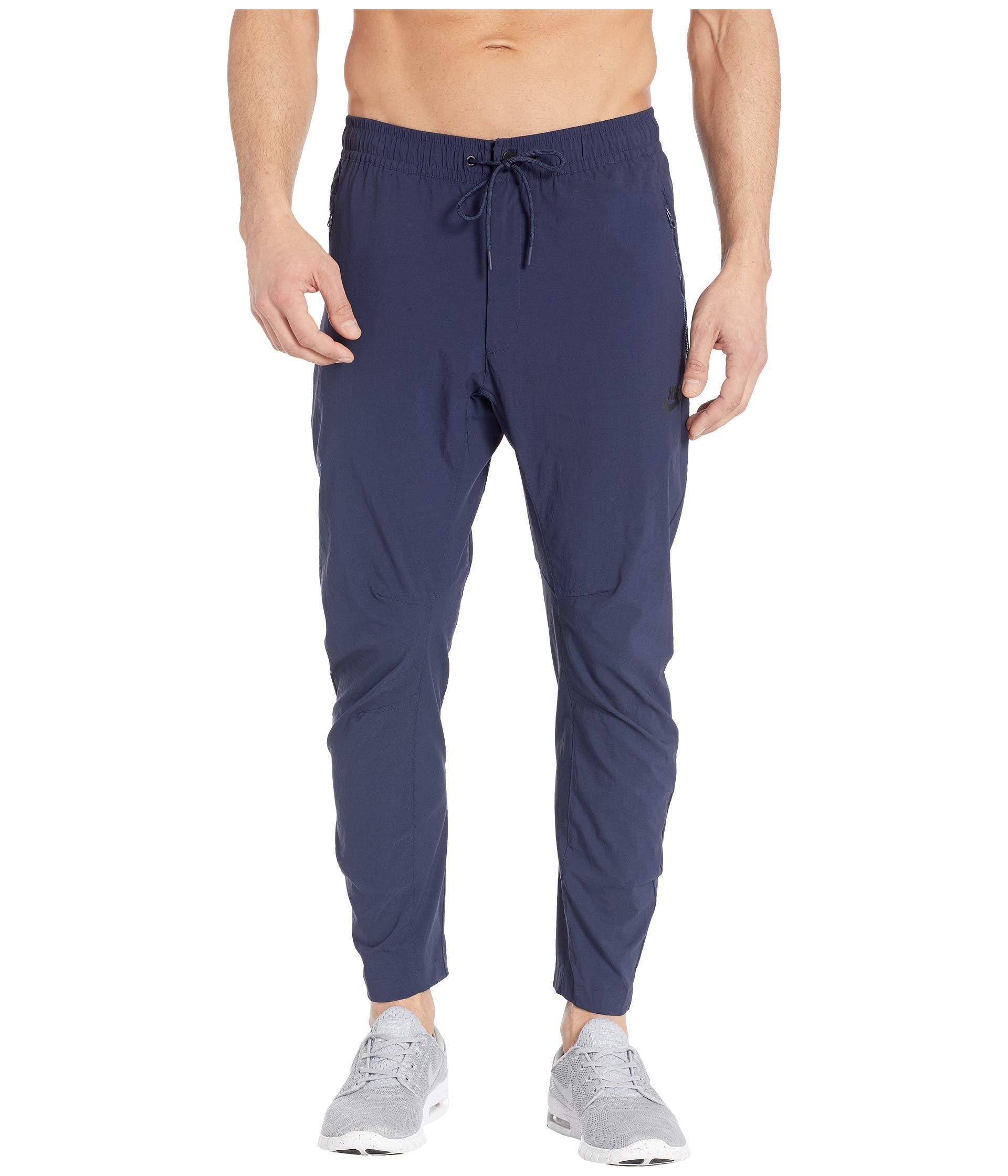 03bab4ca5c9 Lyst - Nike Nsw Woven Statement Street Pants (black black) Men s ...